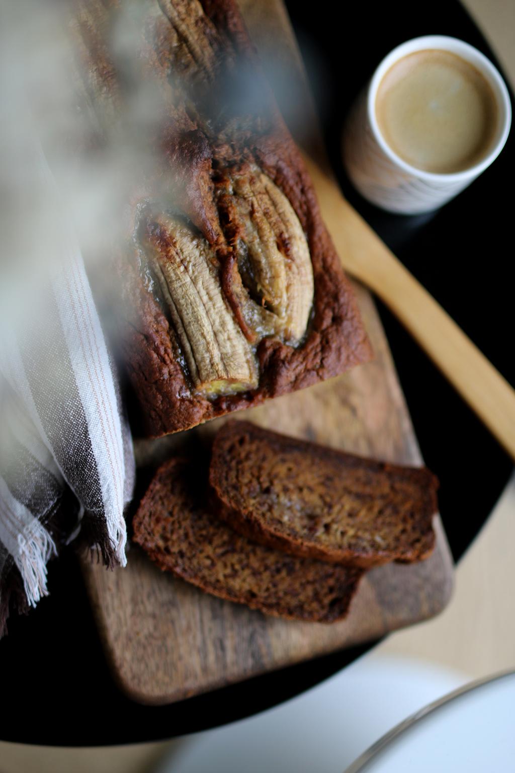 banana bread avec bananes mures