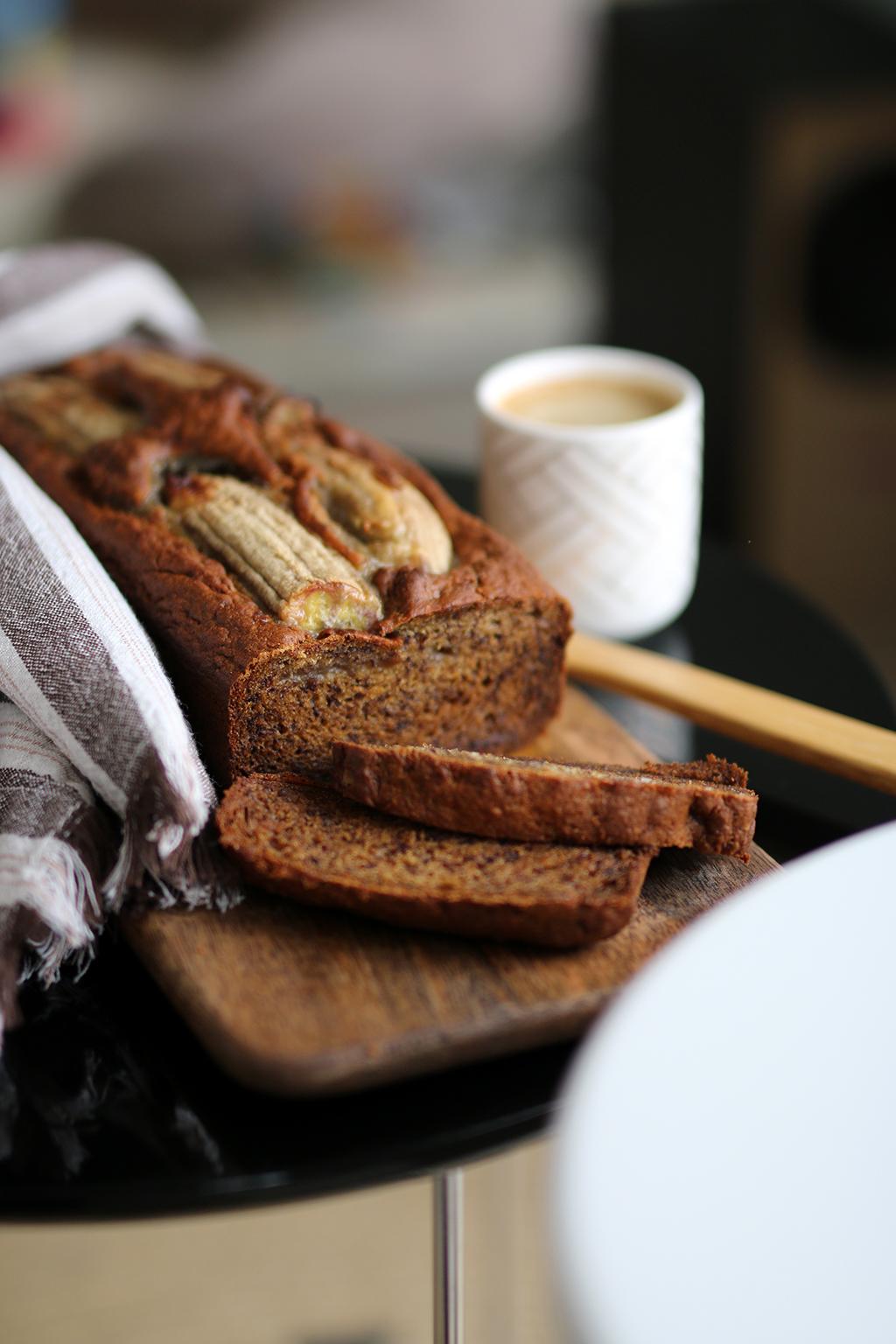 banana bread la recette