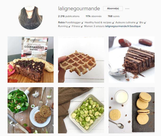 healthy food instagram le petit monde d'elodie compte la ligne gourmande