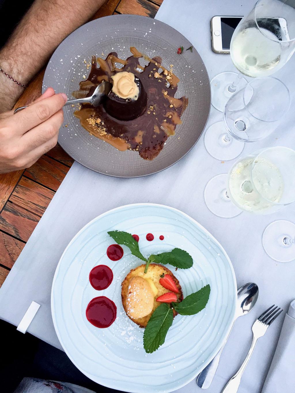 restaurant l'antigu porto vecchio en corse voyage le petit monde d'elodie