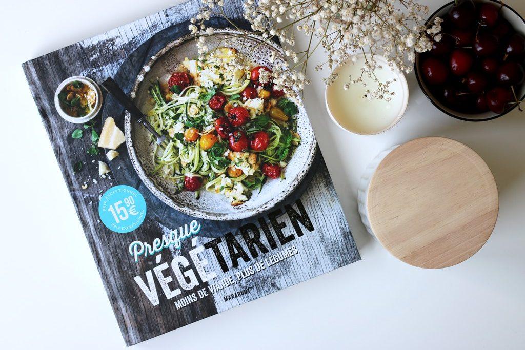 mes favoris lifestyle livre marabout presque végétarien