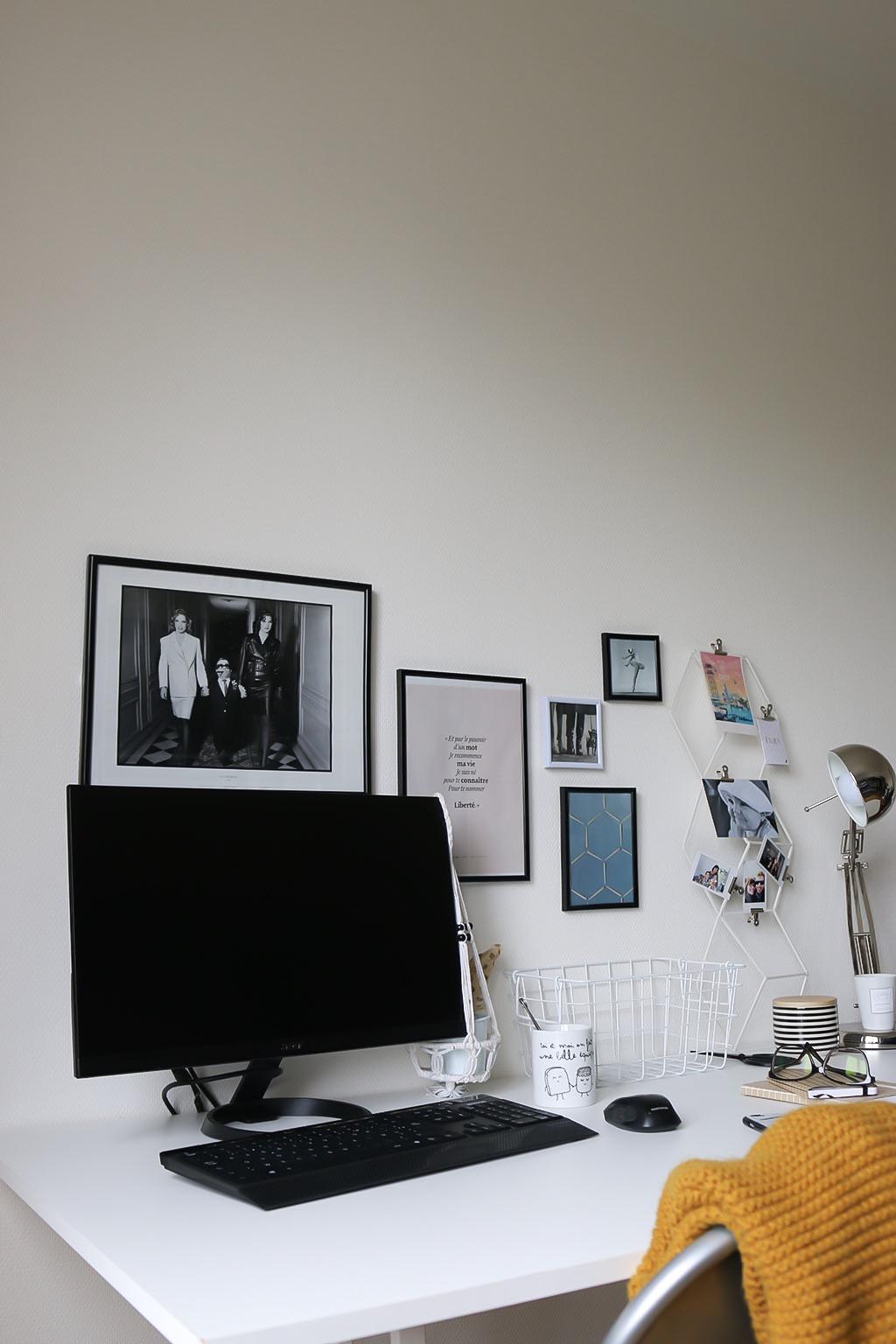 bureau d co comment am nager un bureau petit prix. Black Bedroom Furniture Sets. Home Design Ideas