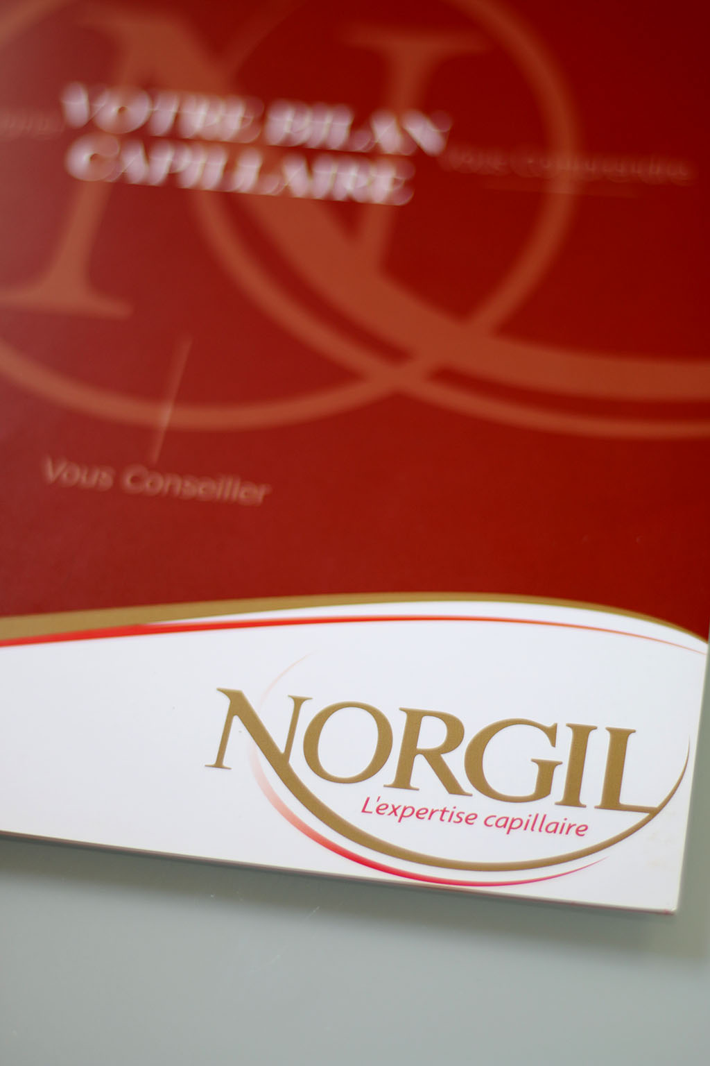 norgil diagnostic capillaire