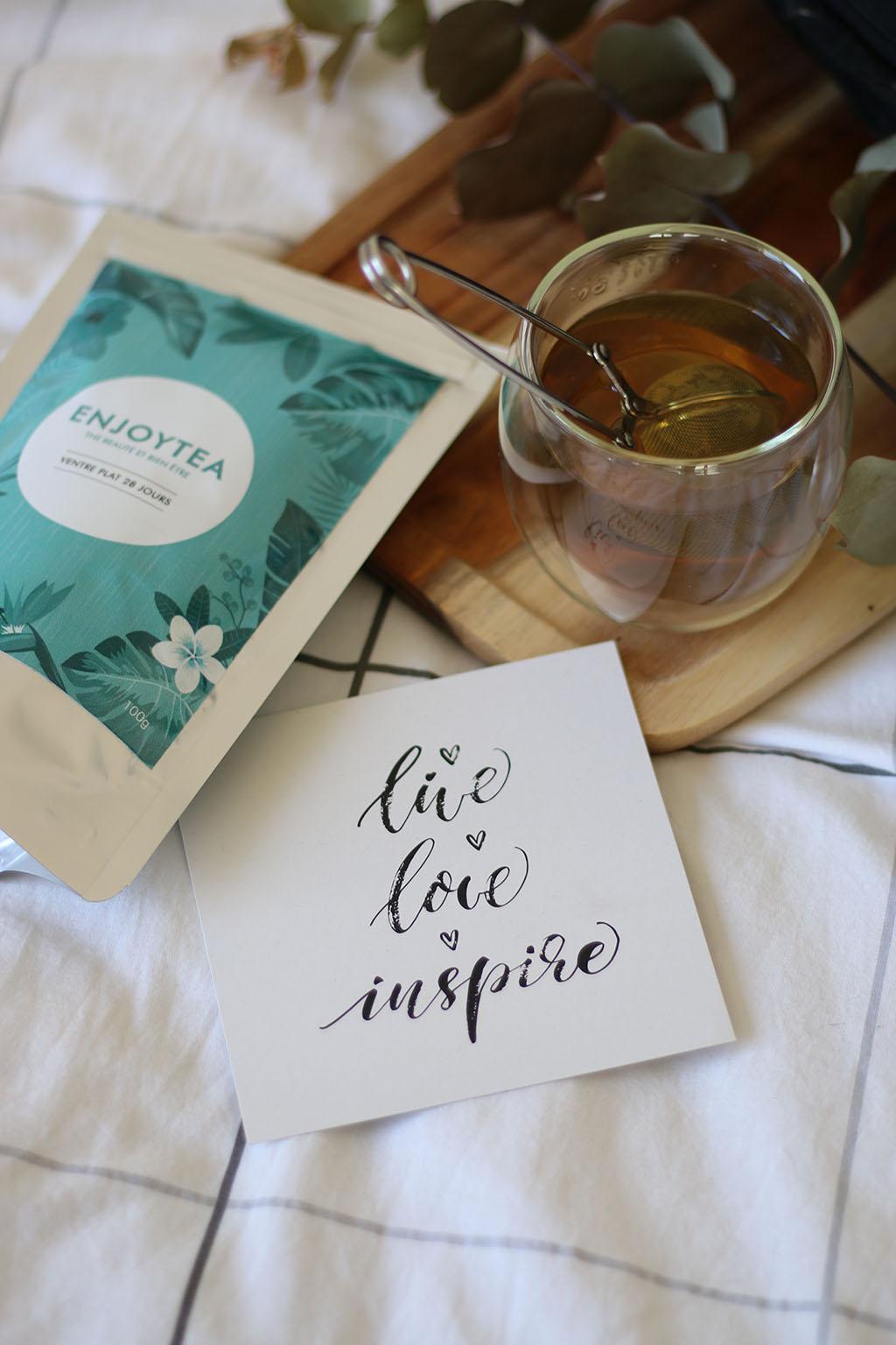 selection thés tisanes thé matcha lepetitmondedelodie