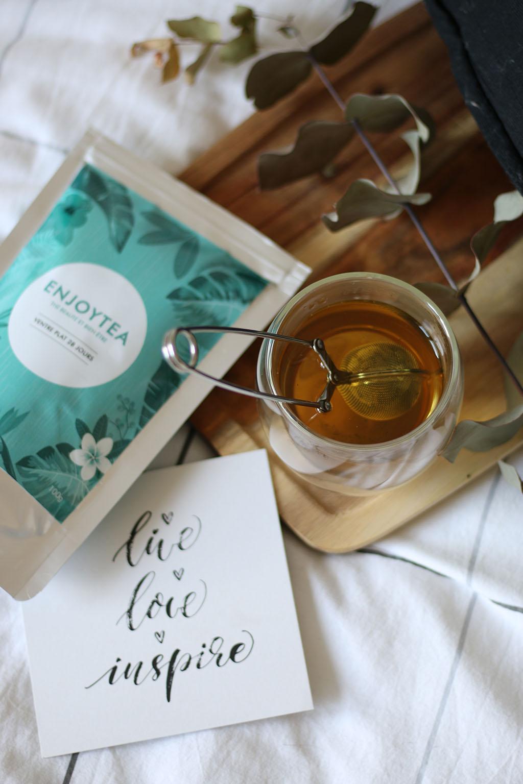 selection thés tisanes enjoy tea lepetitmondedelodie