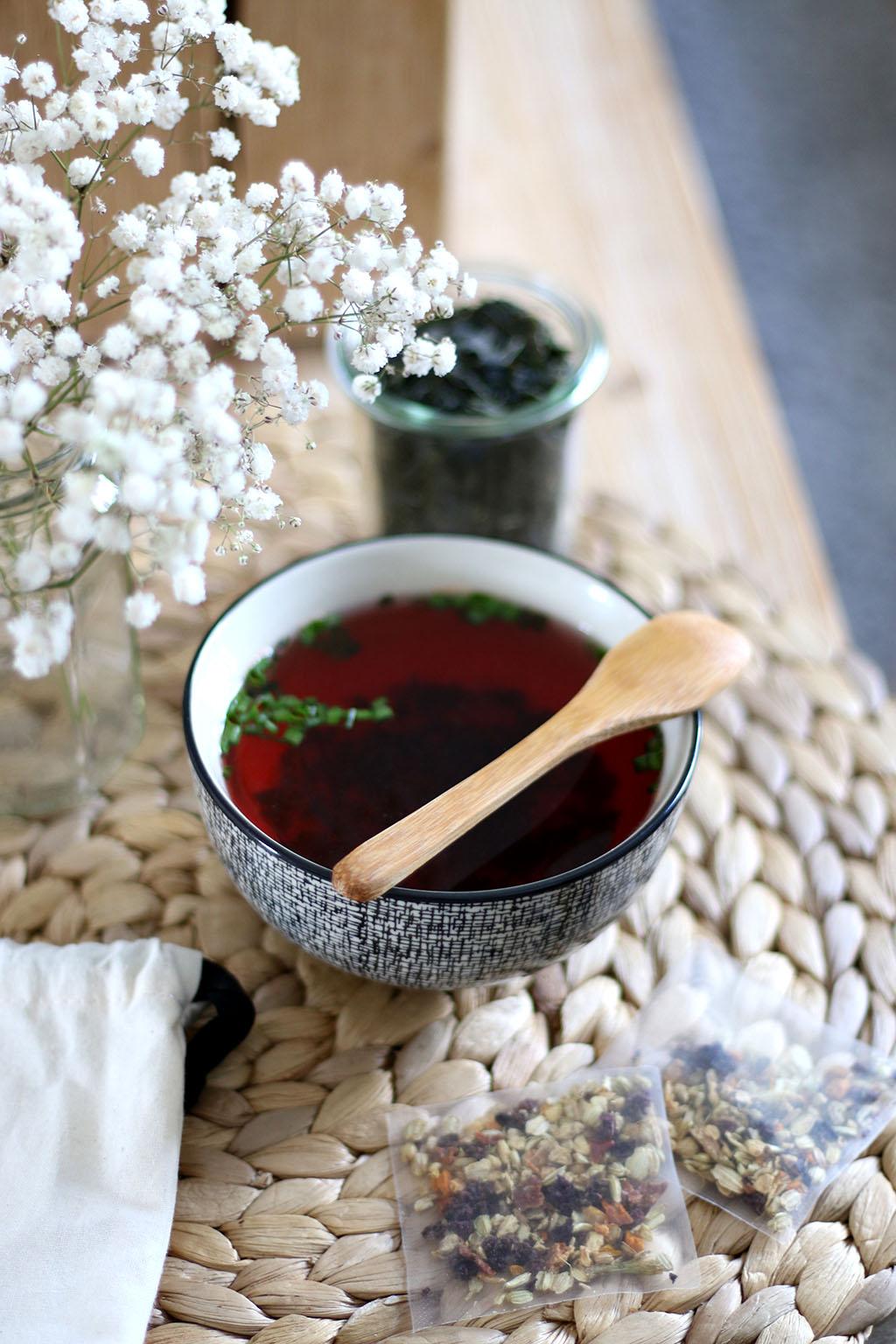selection thés tisanes chic des plantes lepetitmondedelodie