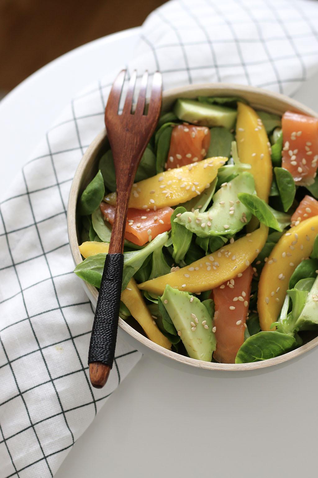 Salades Composees 5 Idees De Recettes Pour L Ete Le Petit Monde D Elodie