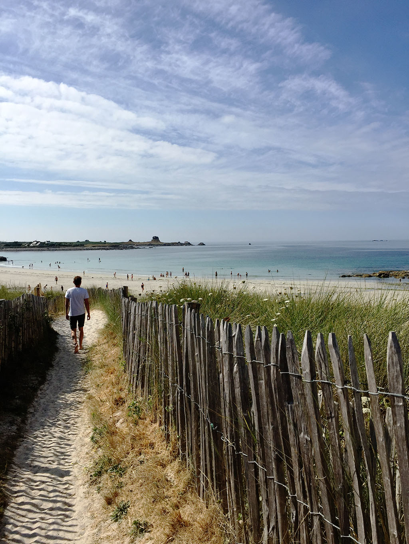 plouguerneau plage