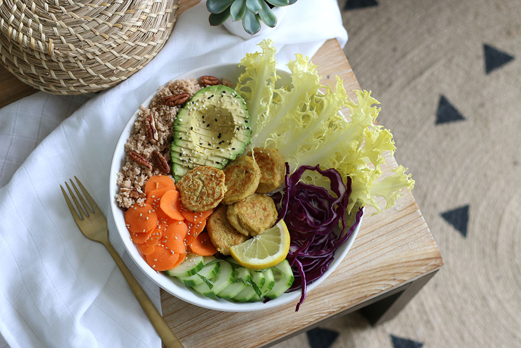 buddha bowl végétarien facile par lepetitmondedelodie