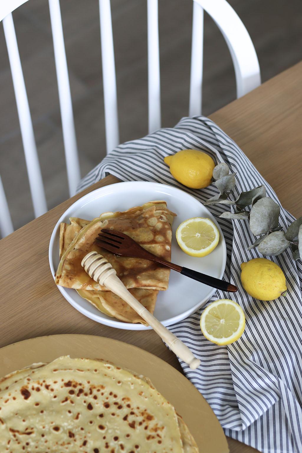 crepes citron et miel