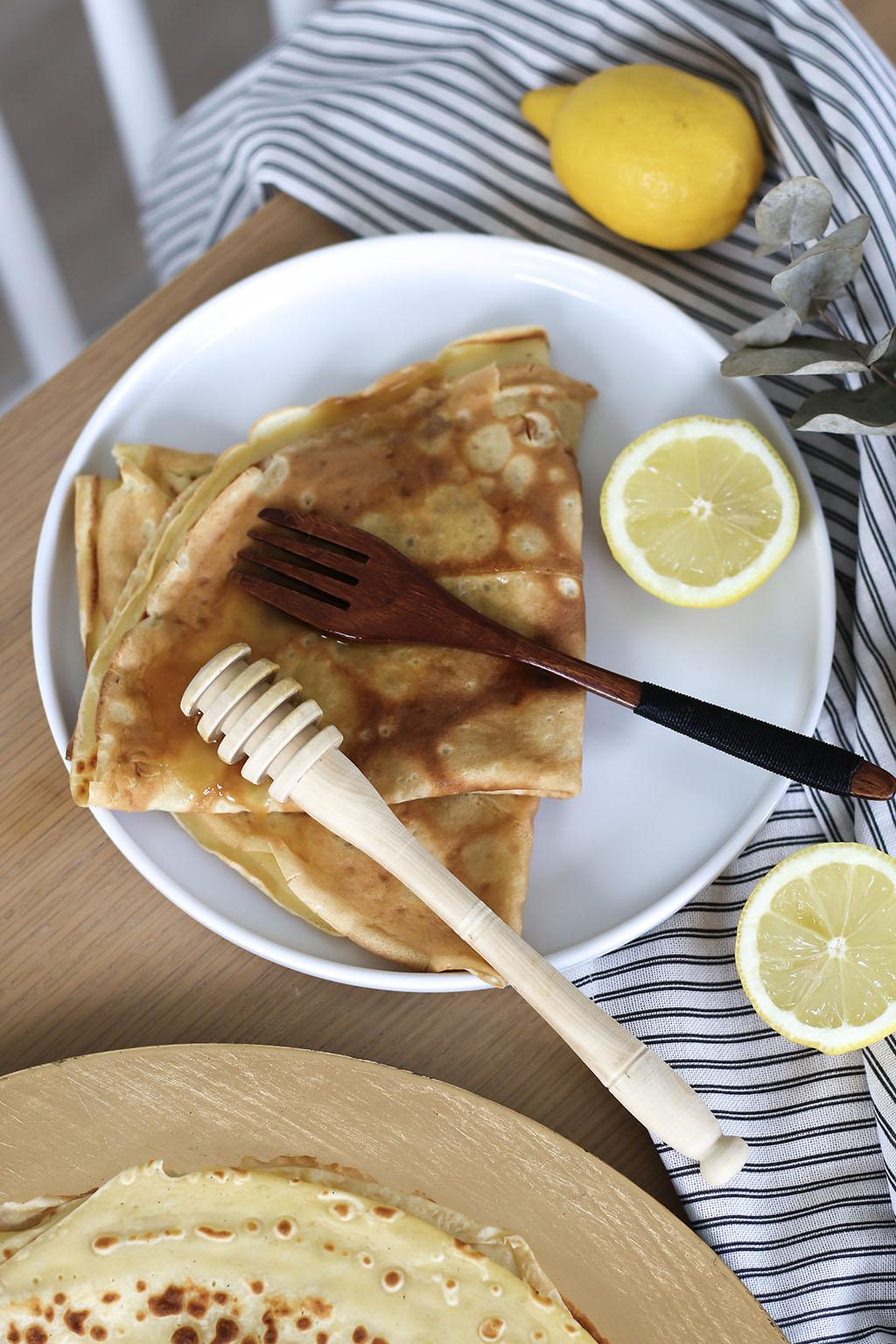 crepes miel citron