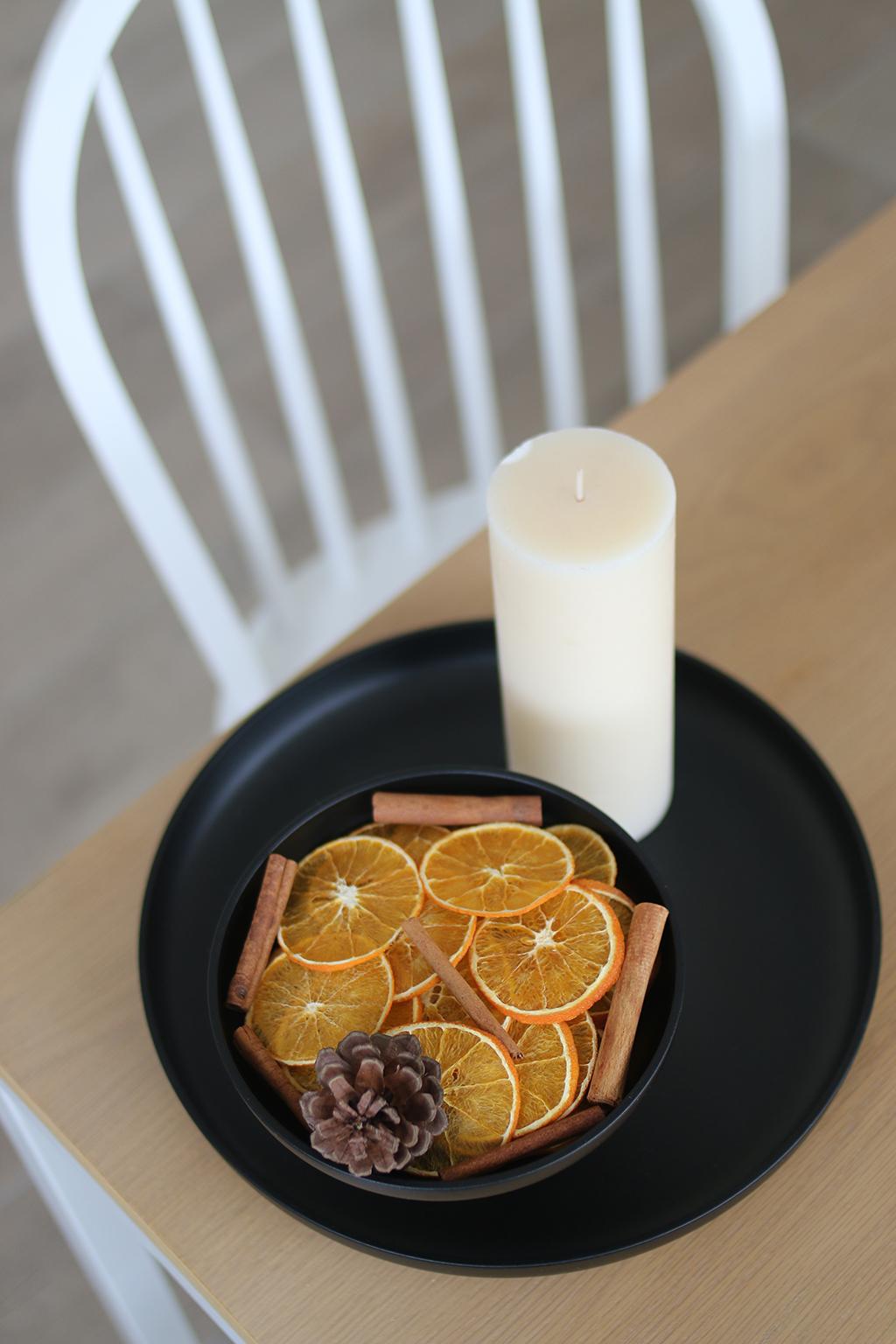 oranges séchées pour noel
