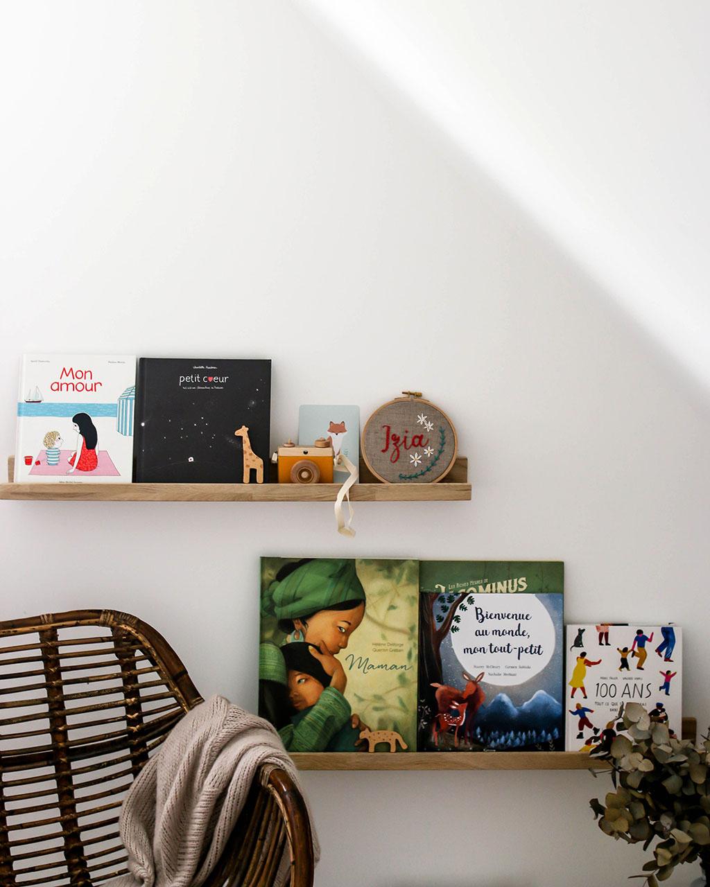 diy bibliothèque pour chambre enfant