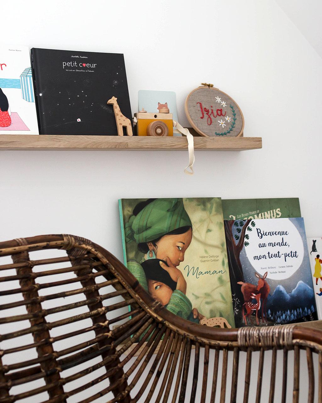 diy bibliothèque pour enfant