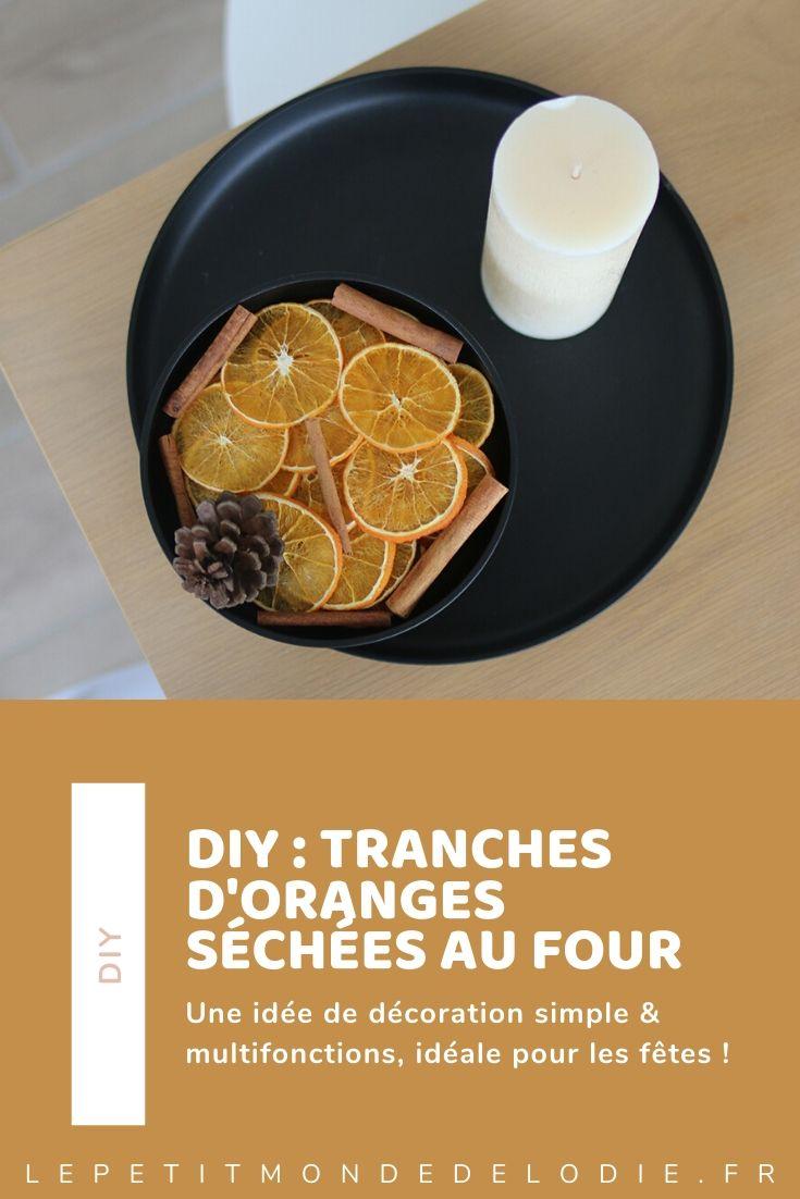 diy pour créer des tranches d'orange