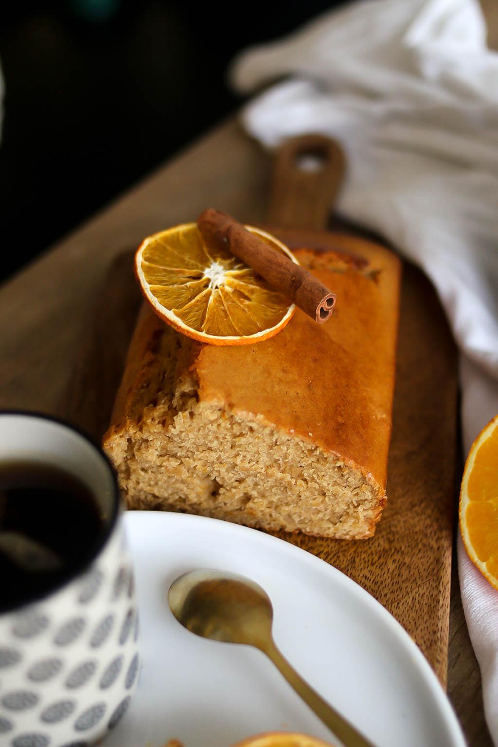 cake orange et cannelle pour noel