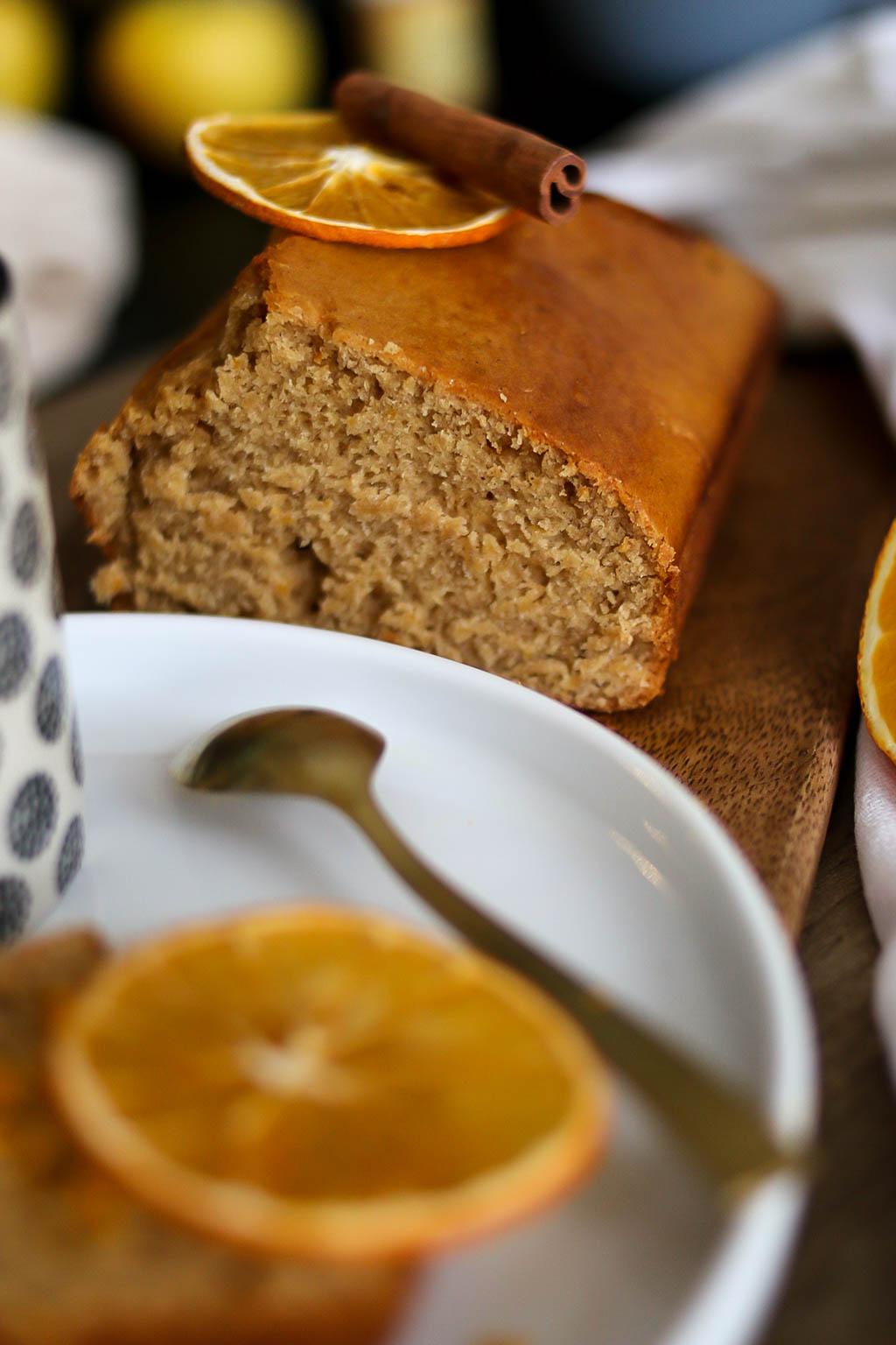 cake moelleux orange et cannelle