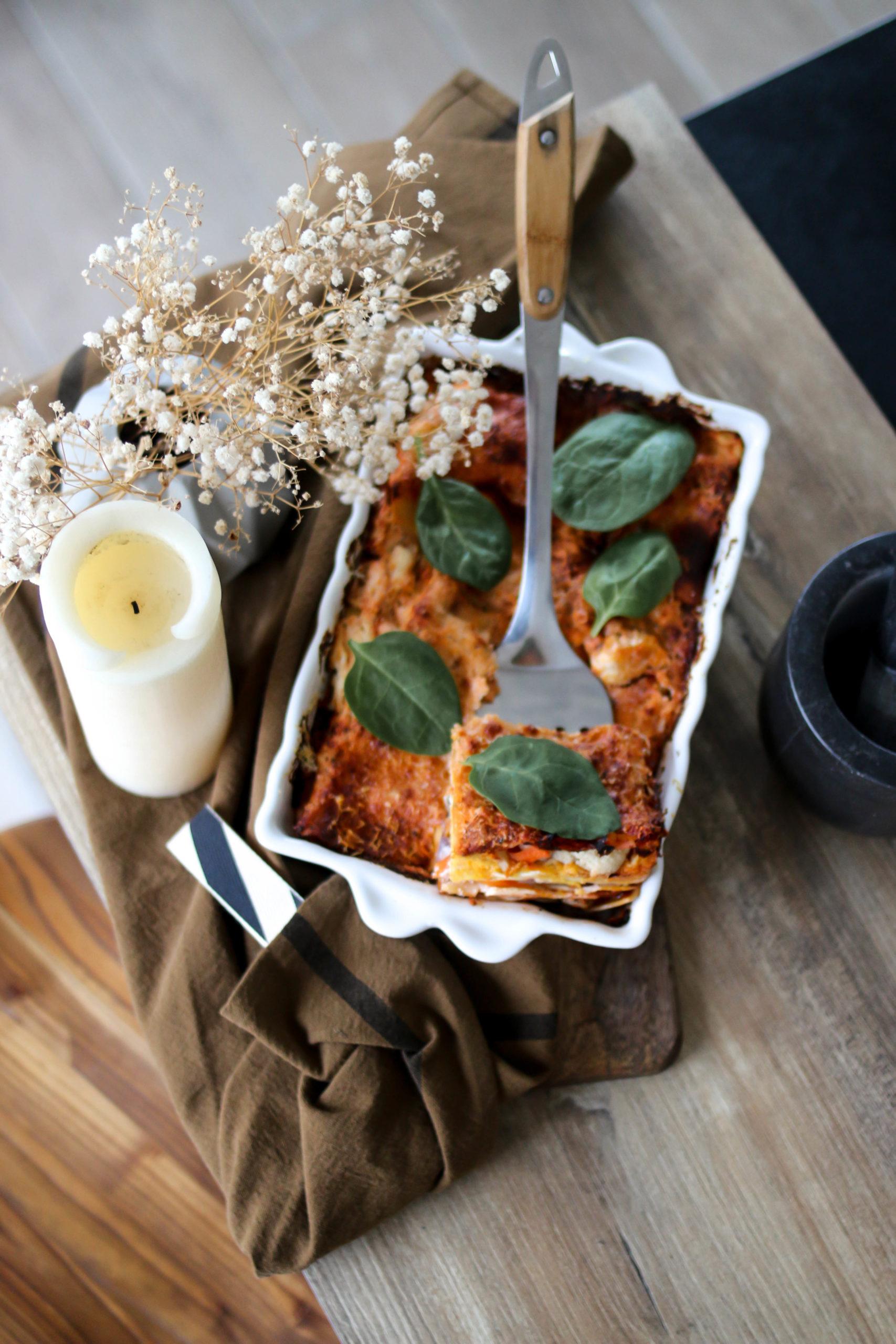 lasagnes aux légumes la recette facile