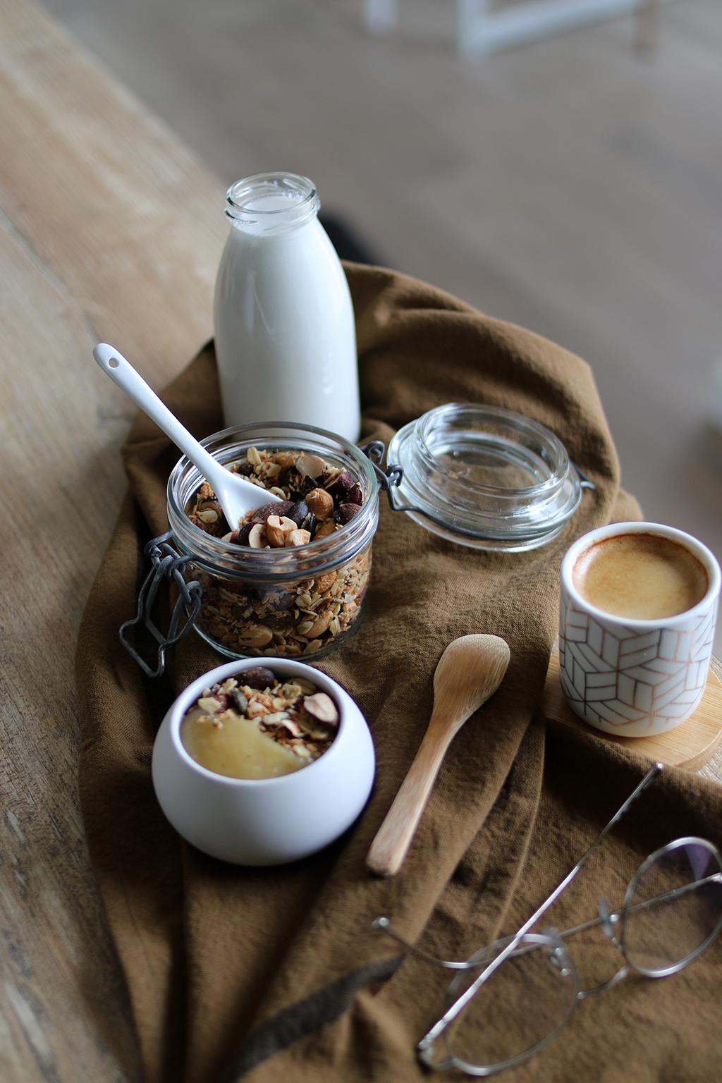 recette de granola coco sans sucre