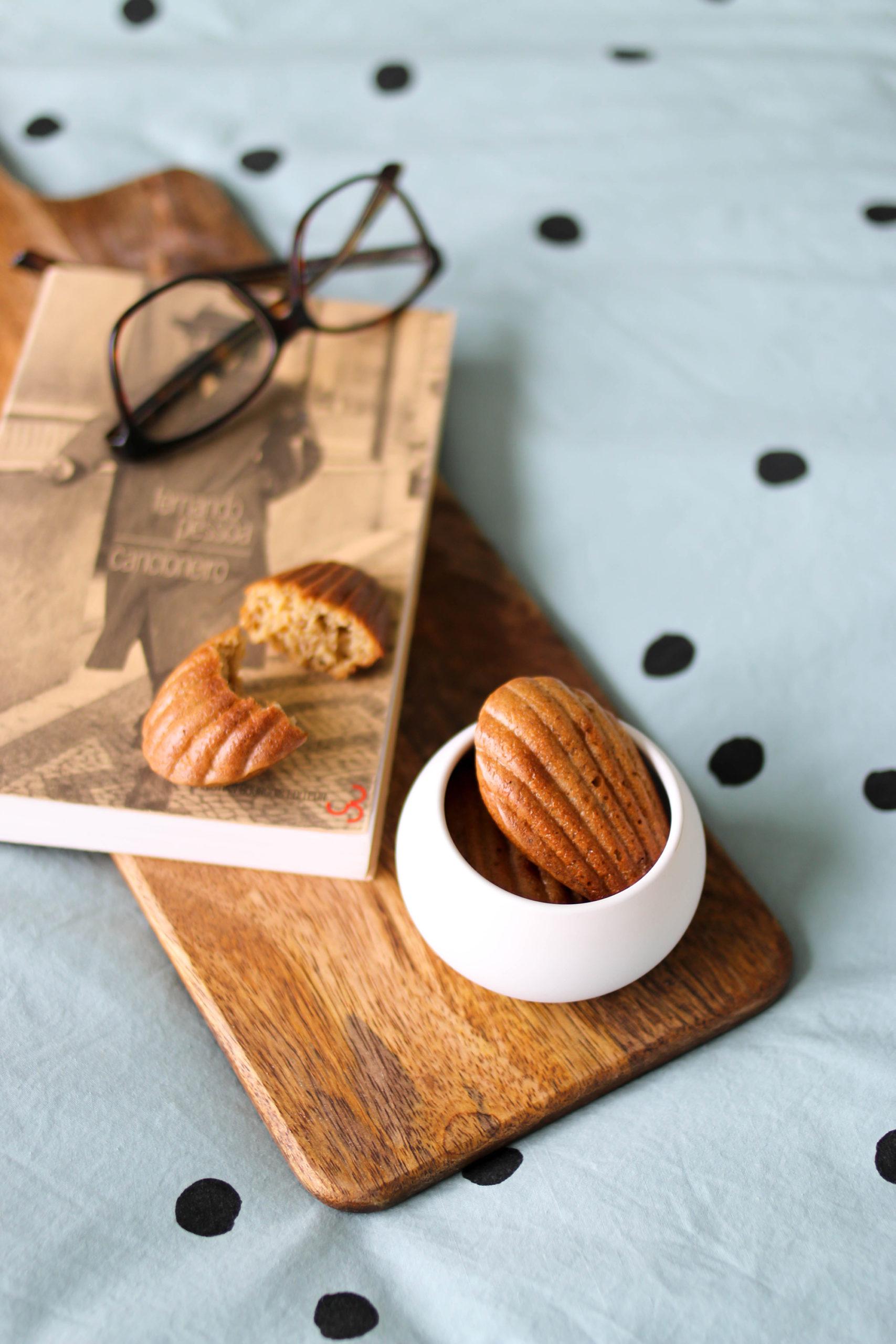 madeleines faciles sans beurre