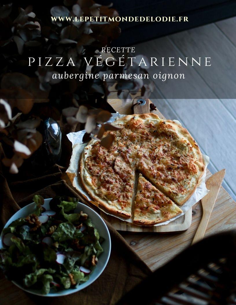 pizza végétarienne idée recette