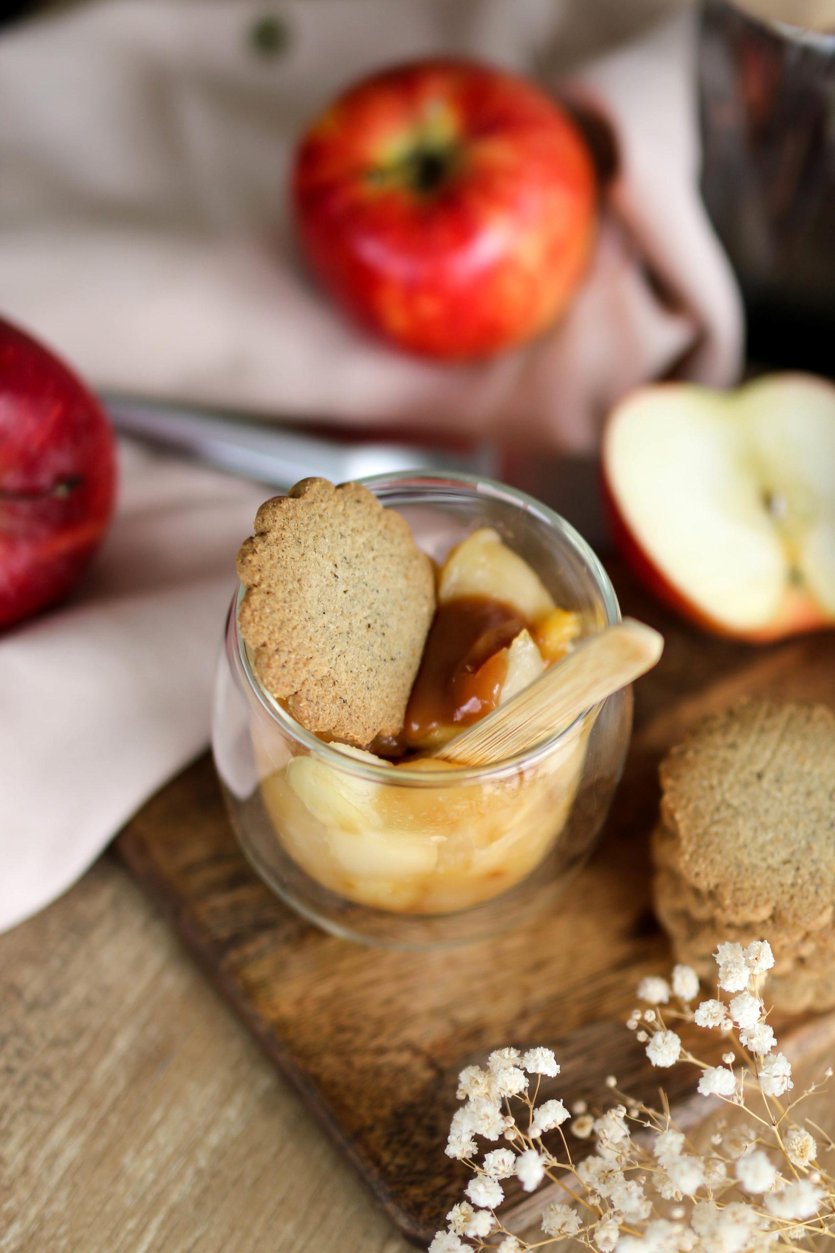 crumble breton aux pommes