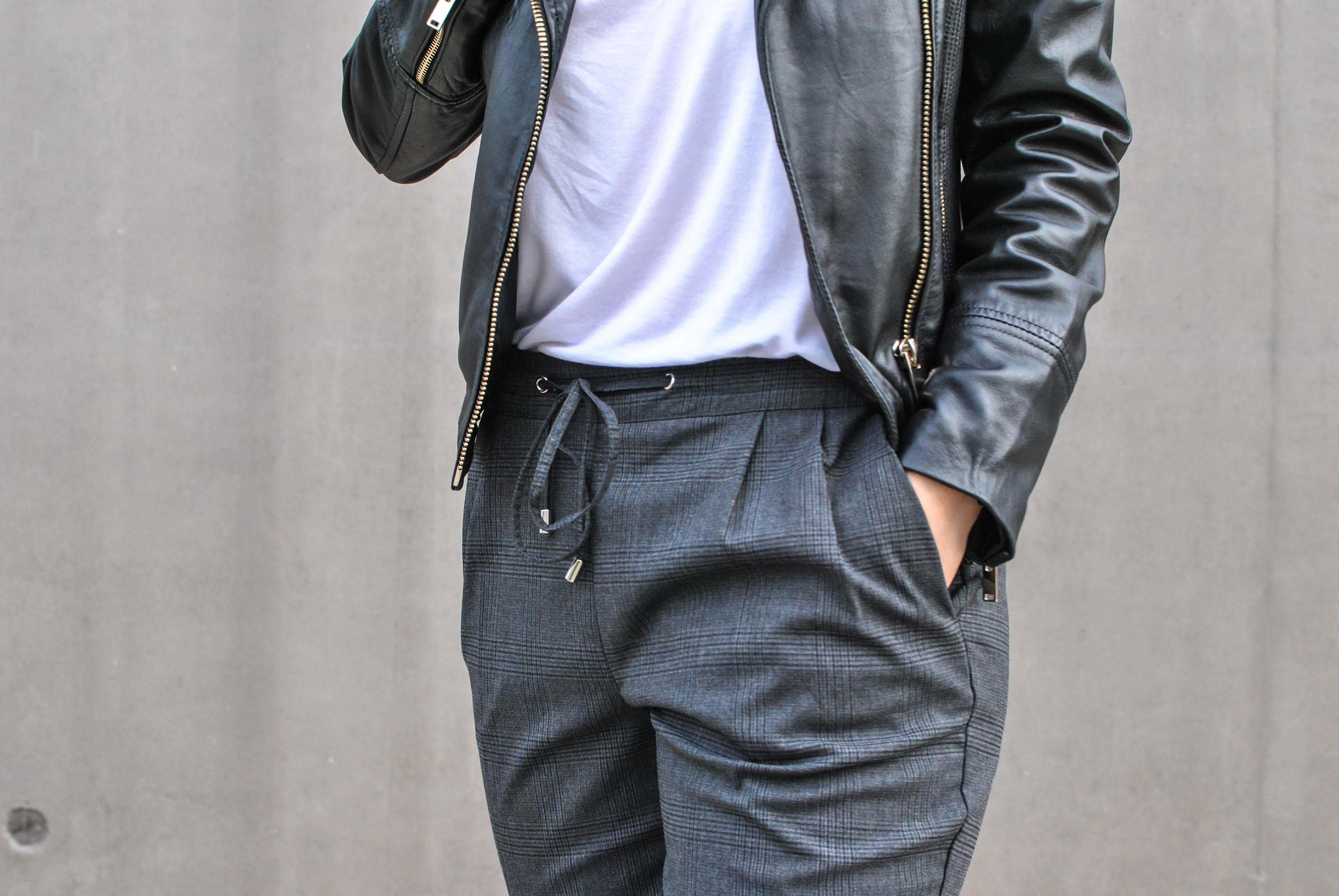 blog mode le petit monde d'elodie tartan pants pantalon tartan