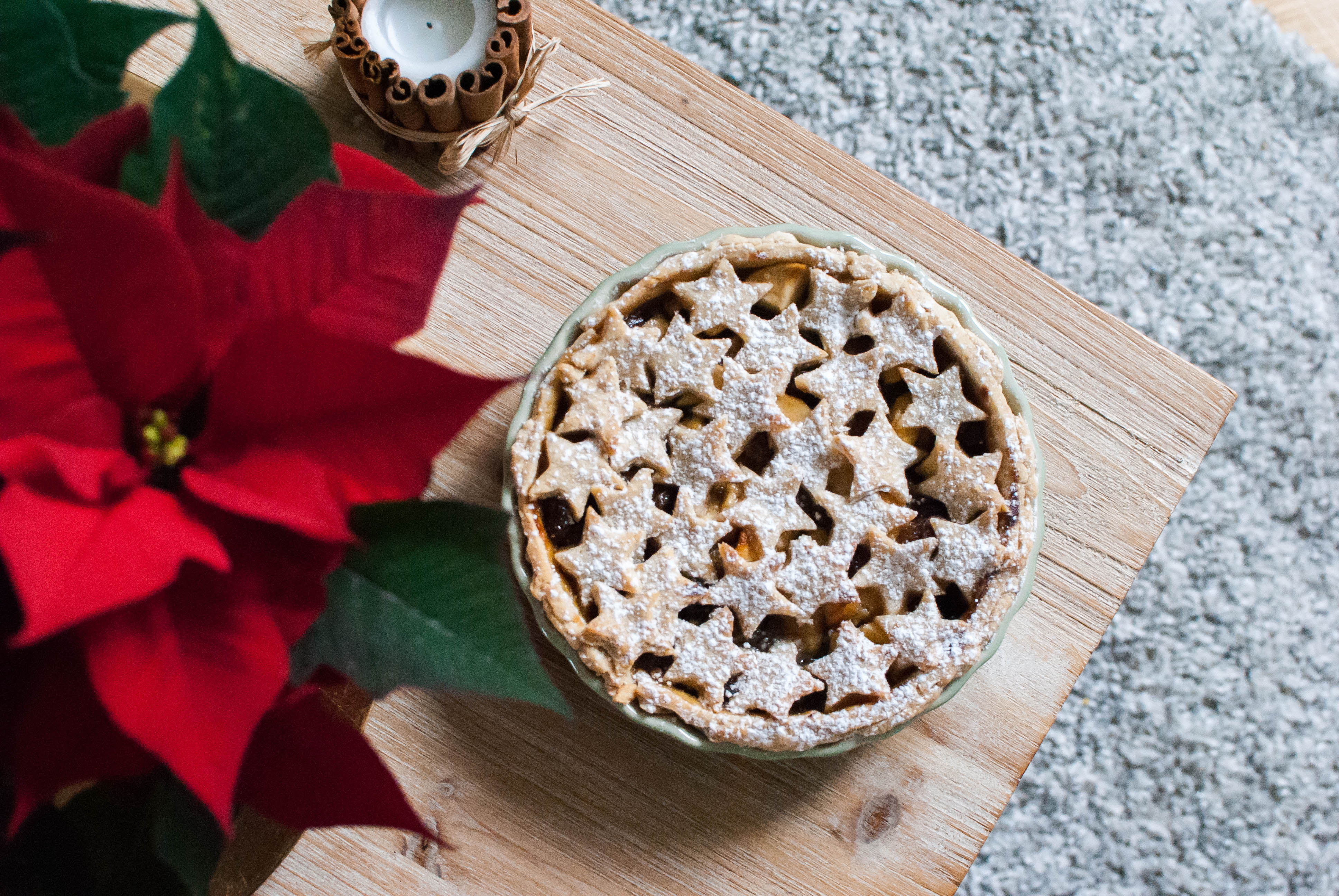 christmas pie tarte de noel recette food le petit monde d'elodie