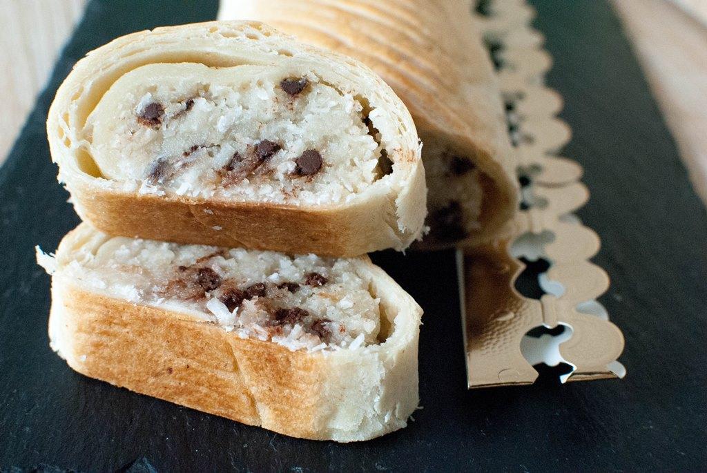 recette vegan galette des rois frangipane noix de coco et pépites de chocolat food le petit monde d'elodie