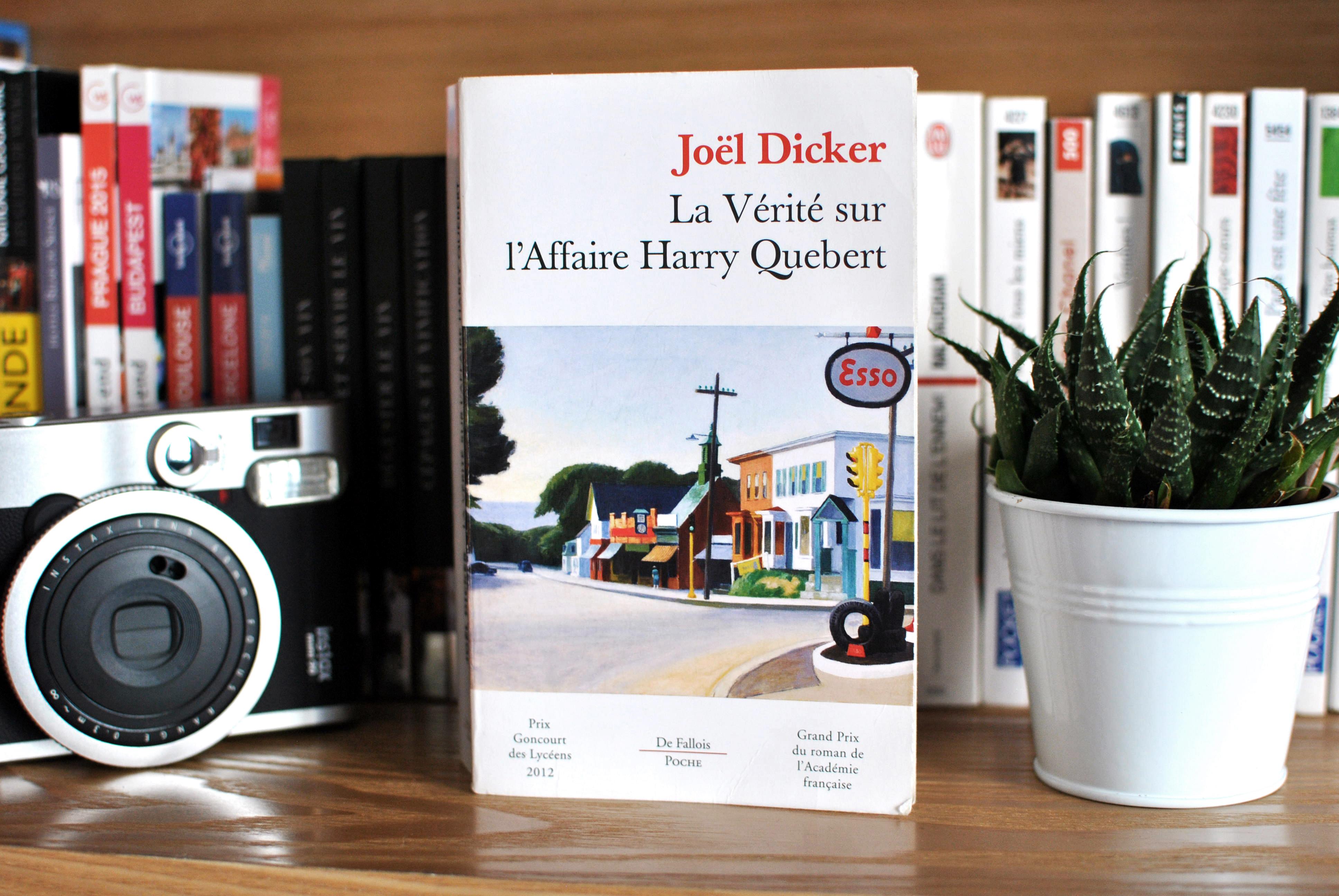 joel dicker la vérité sur l'affaire harry quebert le petit monde d'elodie livres book