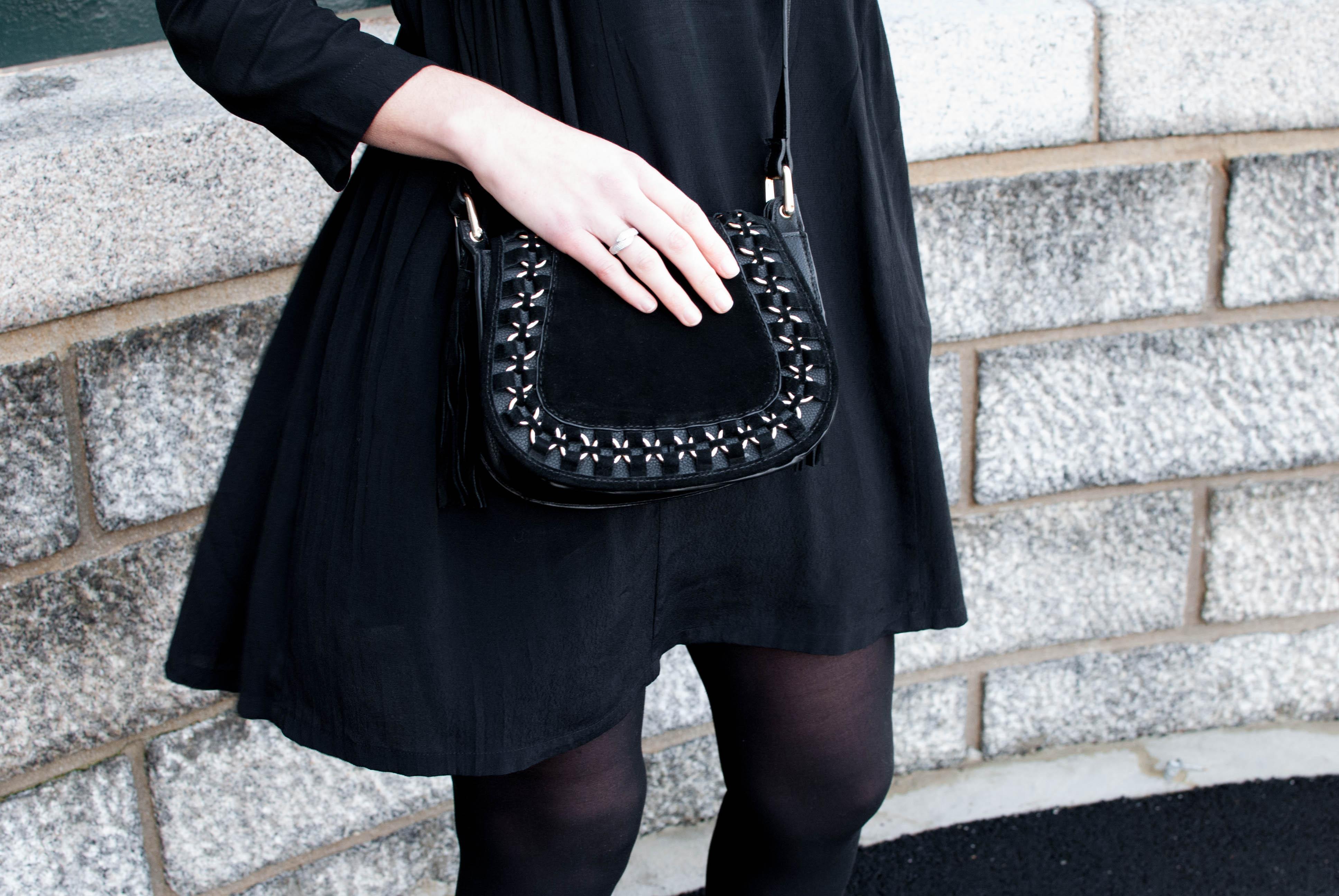 la petite robe noire parfaite look mode le petit monde d'elodie