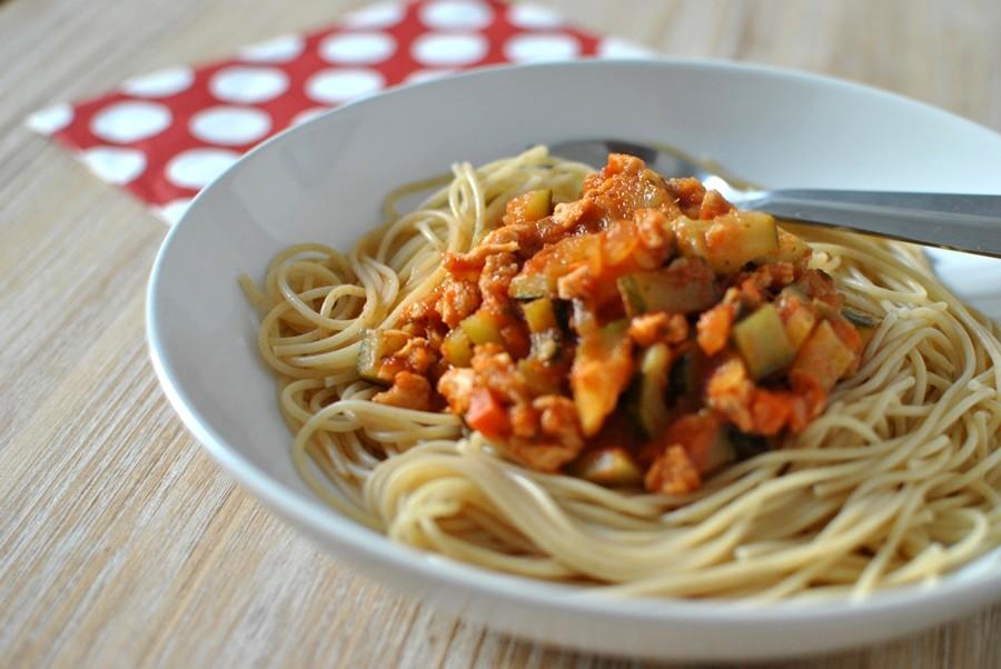 pâtes provençales aux protéines de soja recette vegan végétarienne healthy