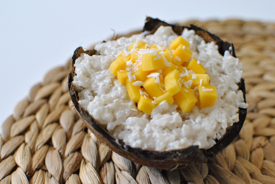 Riz au lait de coco et d'amande, recette dessert vegan