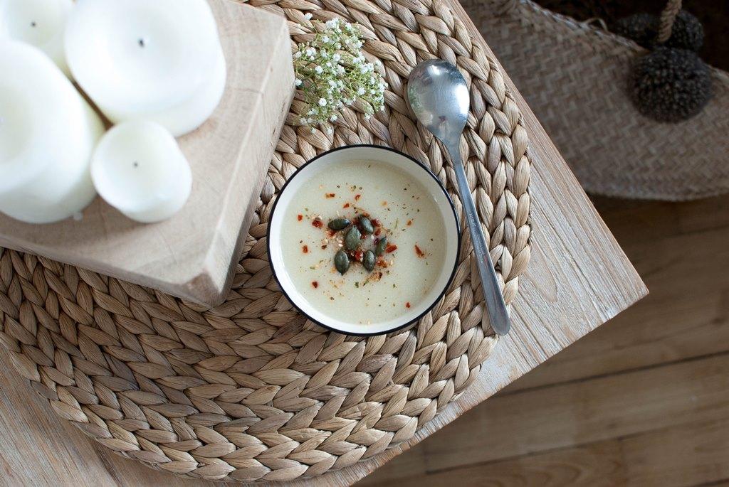 soupe de chou-fleur pommes de terre pomme recette recipe food le petit monde d'elodie