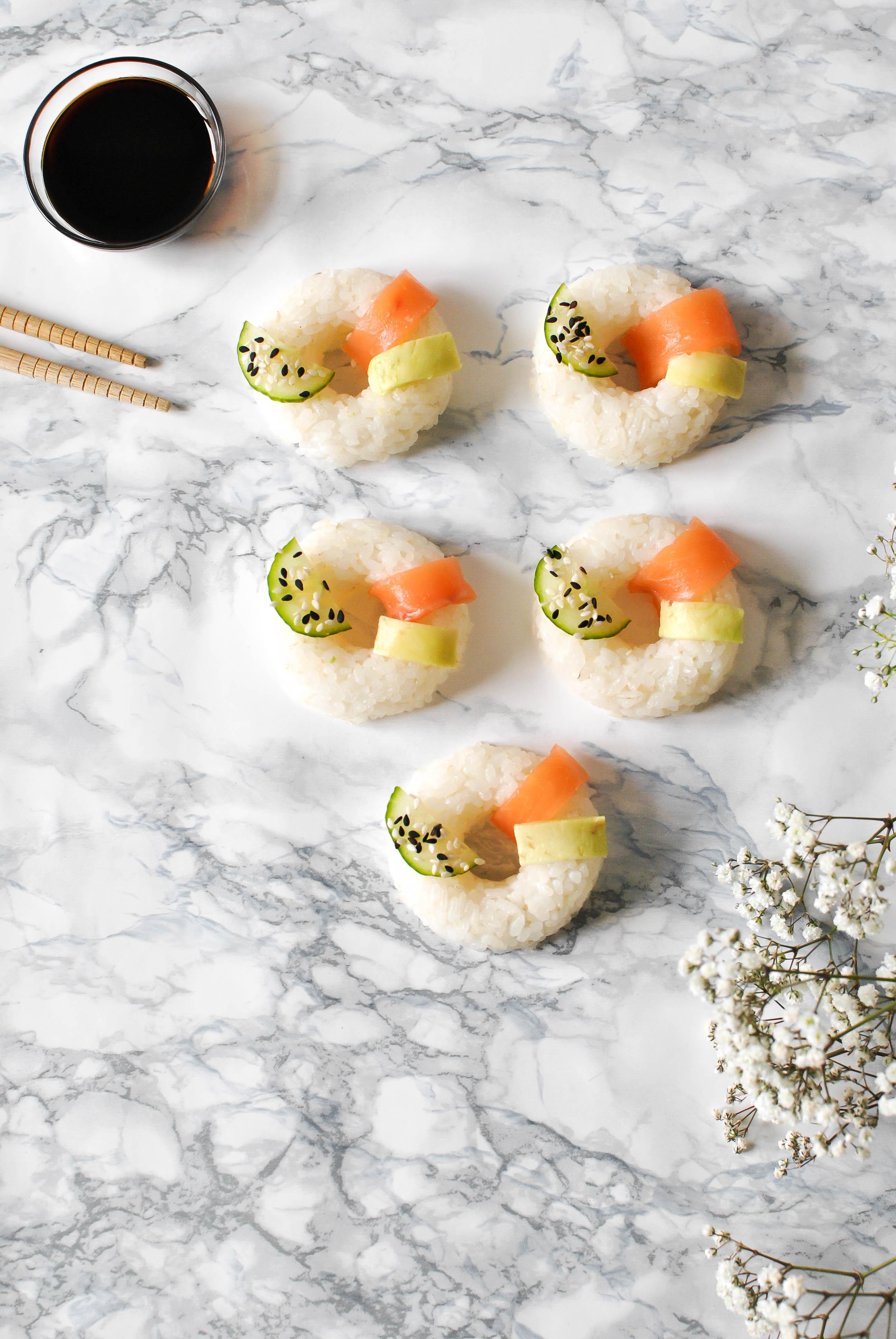 sushi donut recette le petit monde d'elodie food