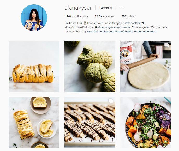healthy food instagram le petit monde d'elodie compte alanakysar