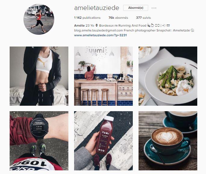 healthy food instagram le petit monde d'elodie compte amelie tauziede
