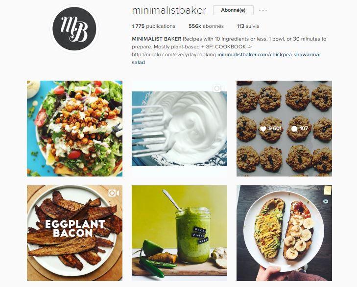 healthy food instagram le petit monde d'elodie minimalist baker
