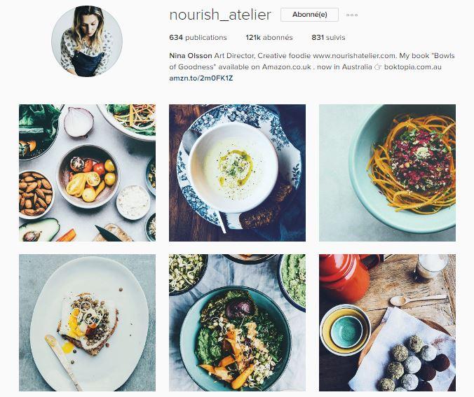healthy food instagram le petit monde d'elodie compte nourish atelier