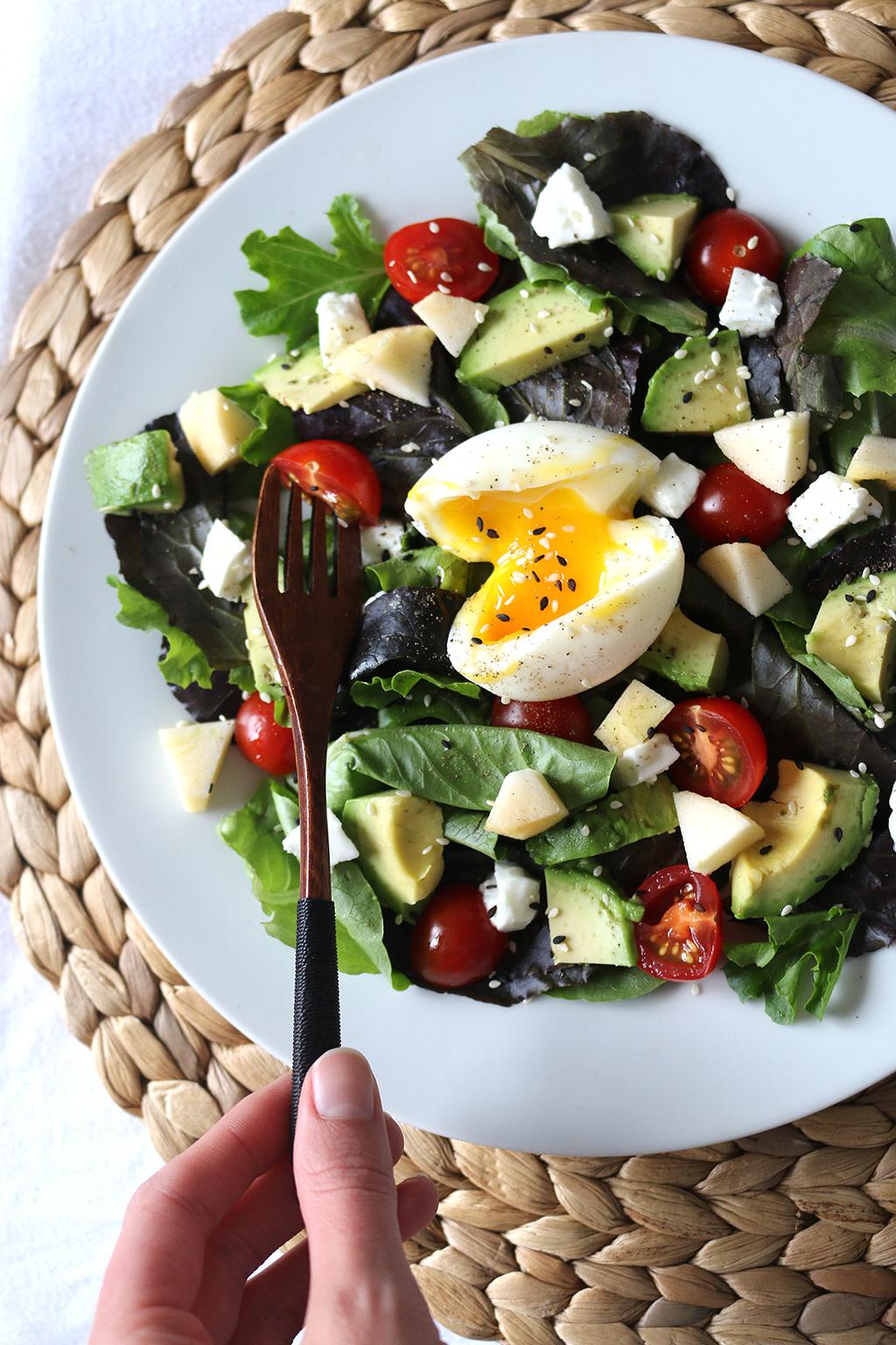 salade estivale sucrée-salée