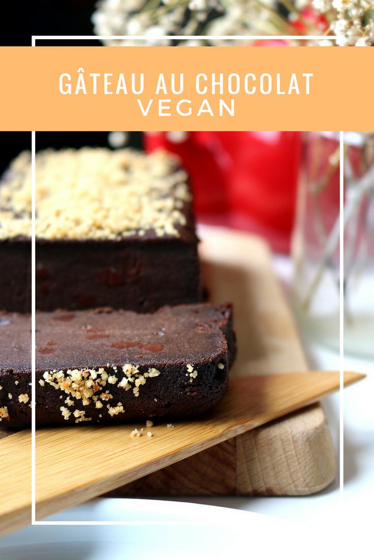 gâteau au chocolat vegan recette food healthy par le petit monde d'elodie