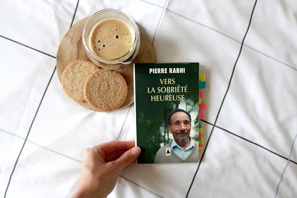 Vers la Sobriété Heureuse, Pierre Rabhi, Avis Lecture par le petit monde d'elodie