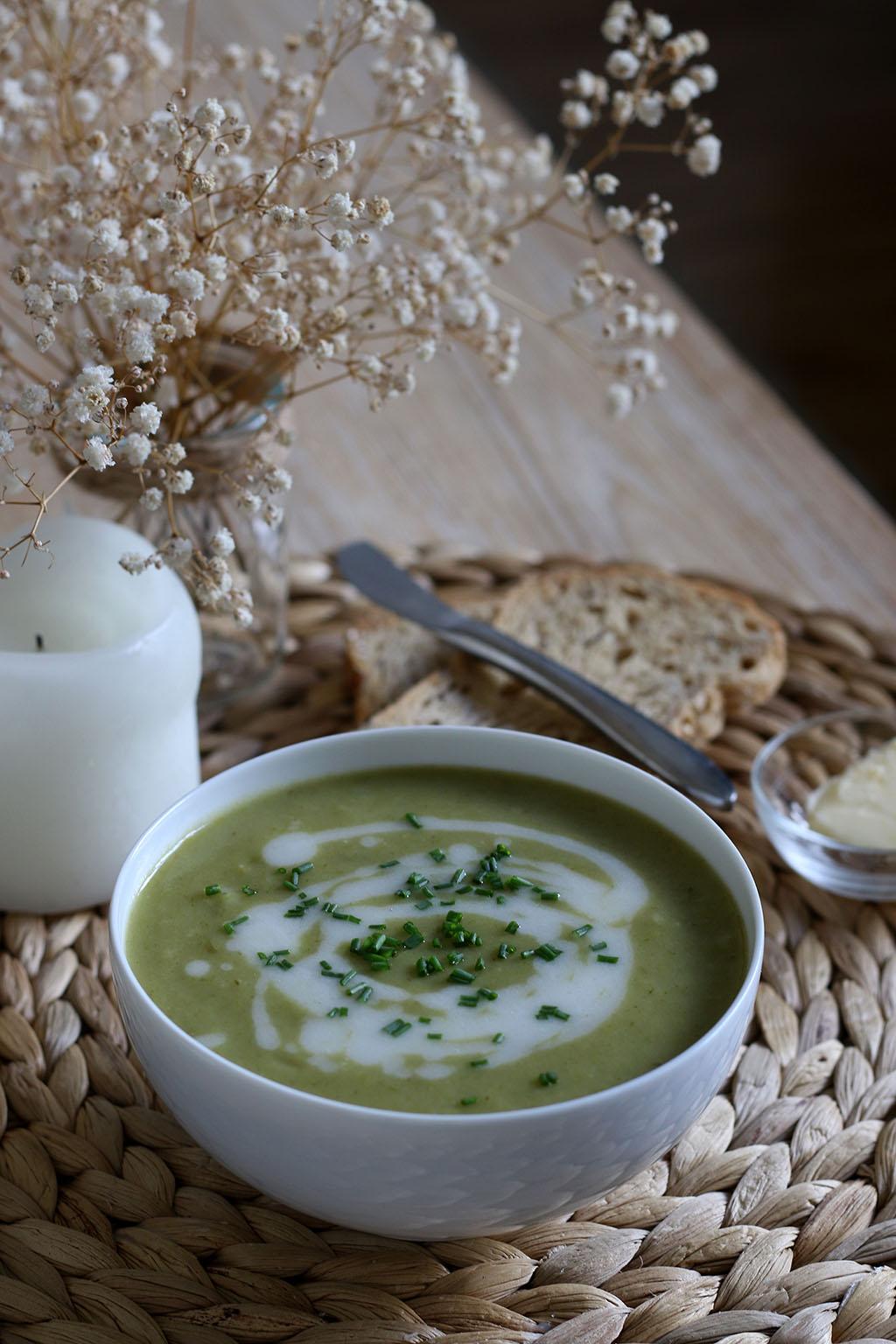 soupe poireaux pommes de terre