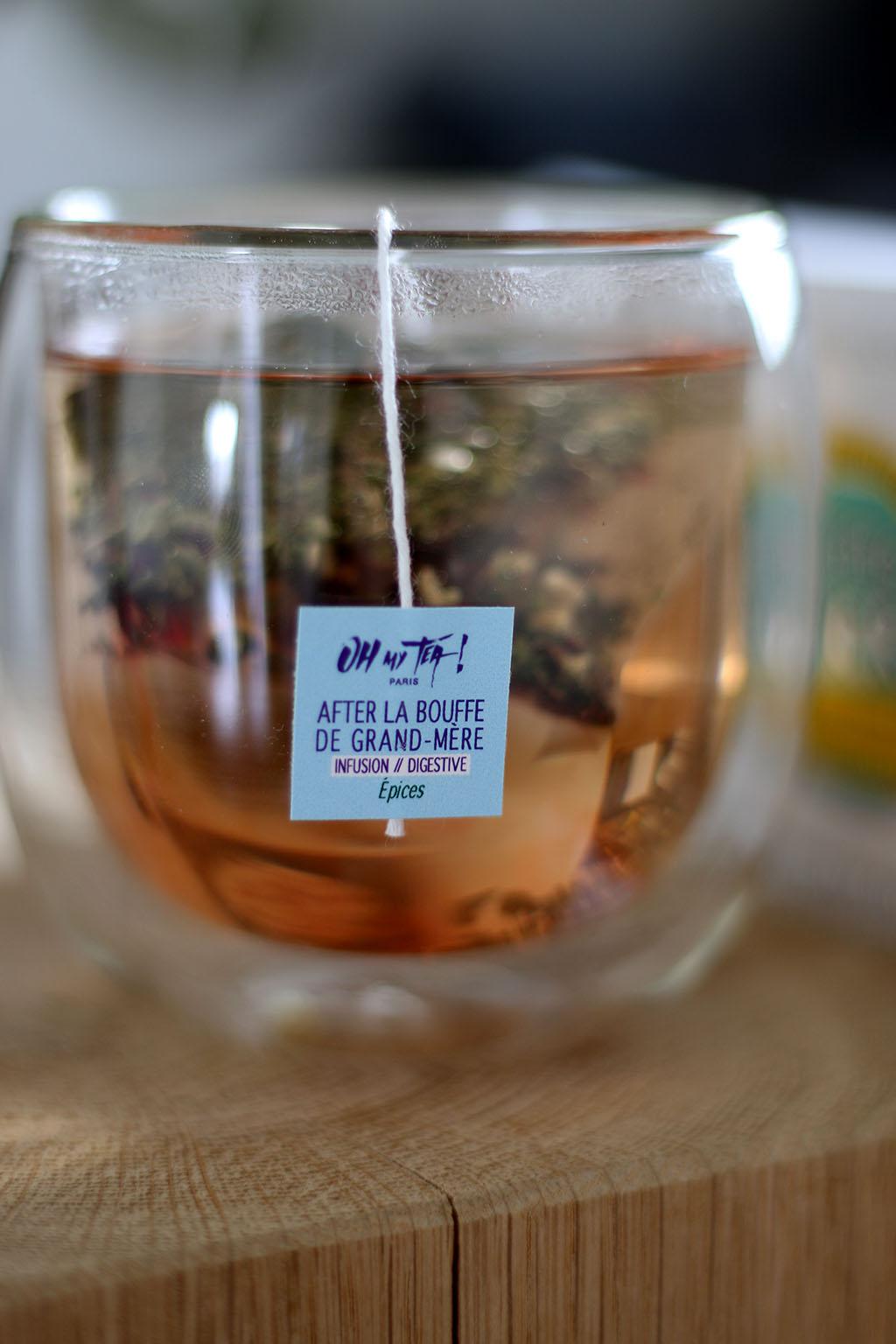 sélection de thés et tisanes oh my tea lepetitmondedelodie