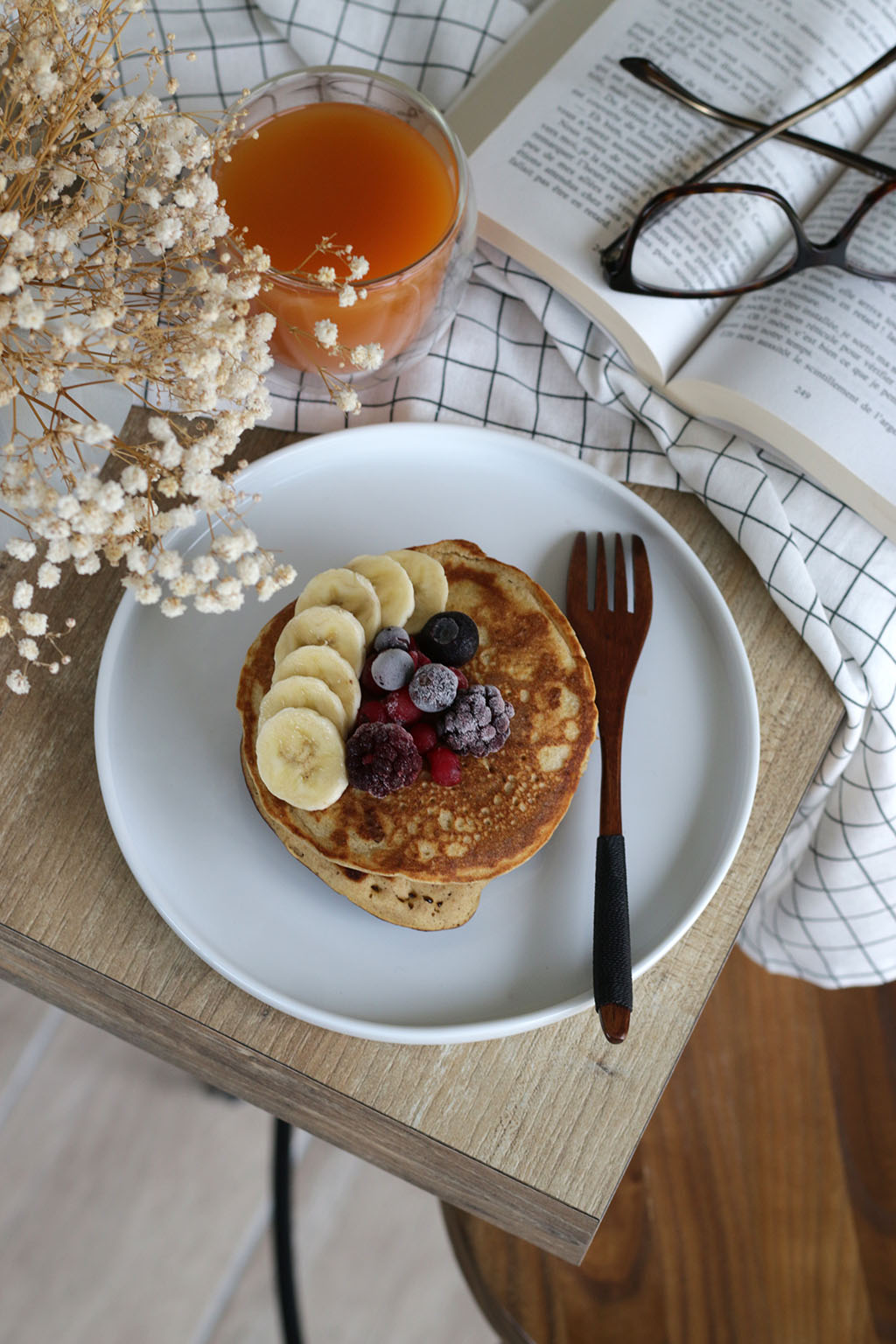pancakes farine sorgho par lepetitmondedelodie