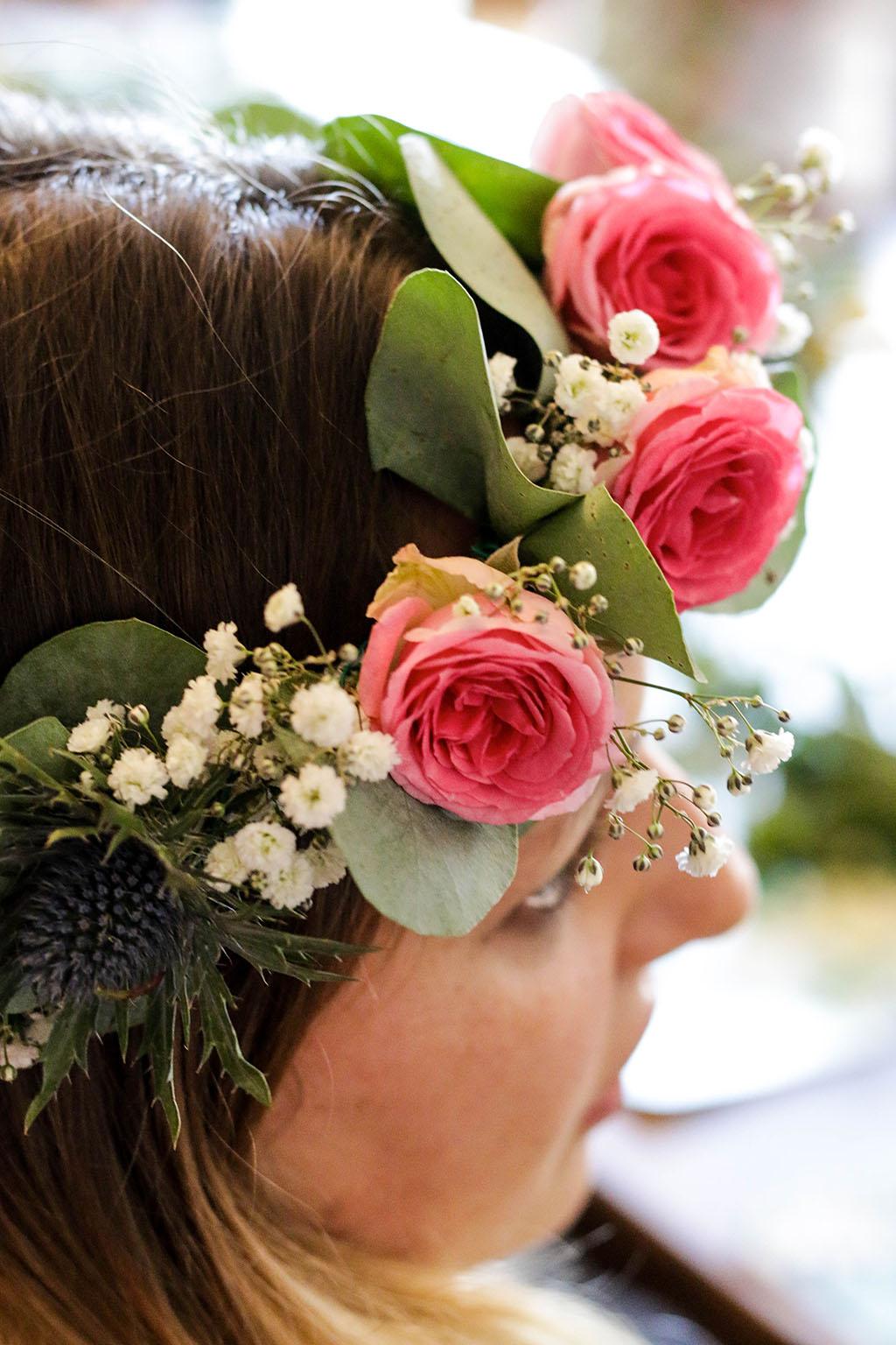 atelier couronne de fleurs pour un evj