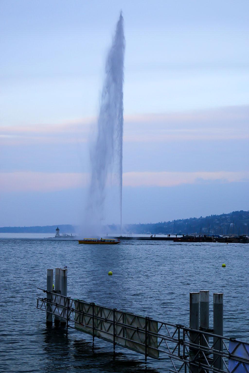 jet d'eau en suisse