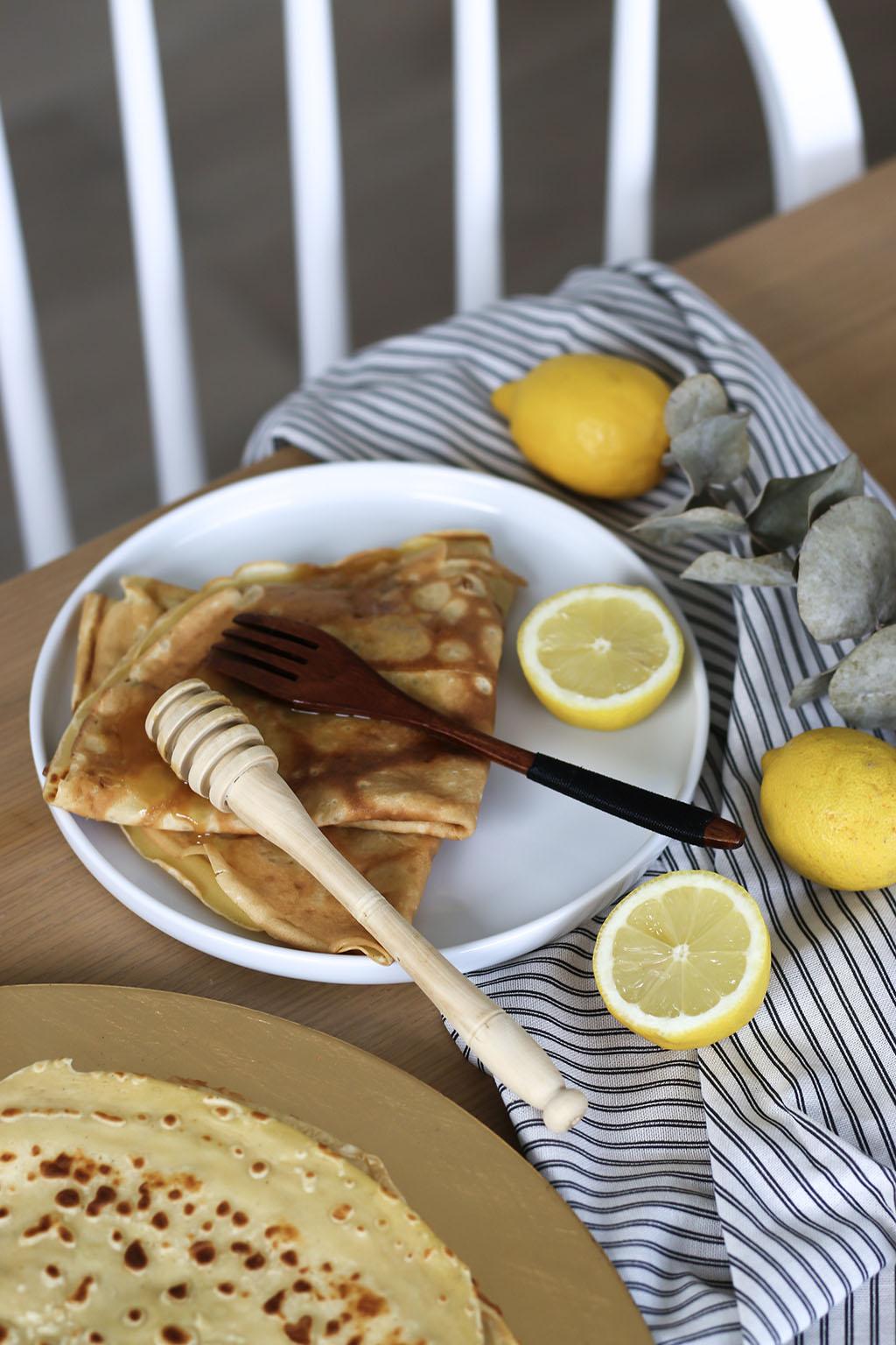 crepes faciles miel citron