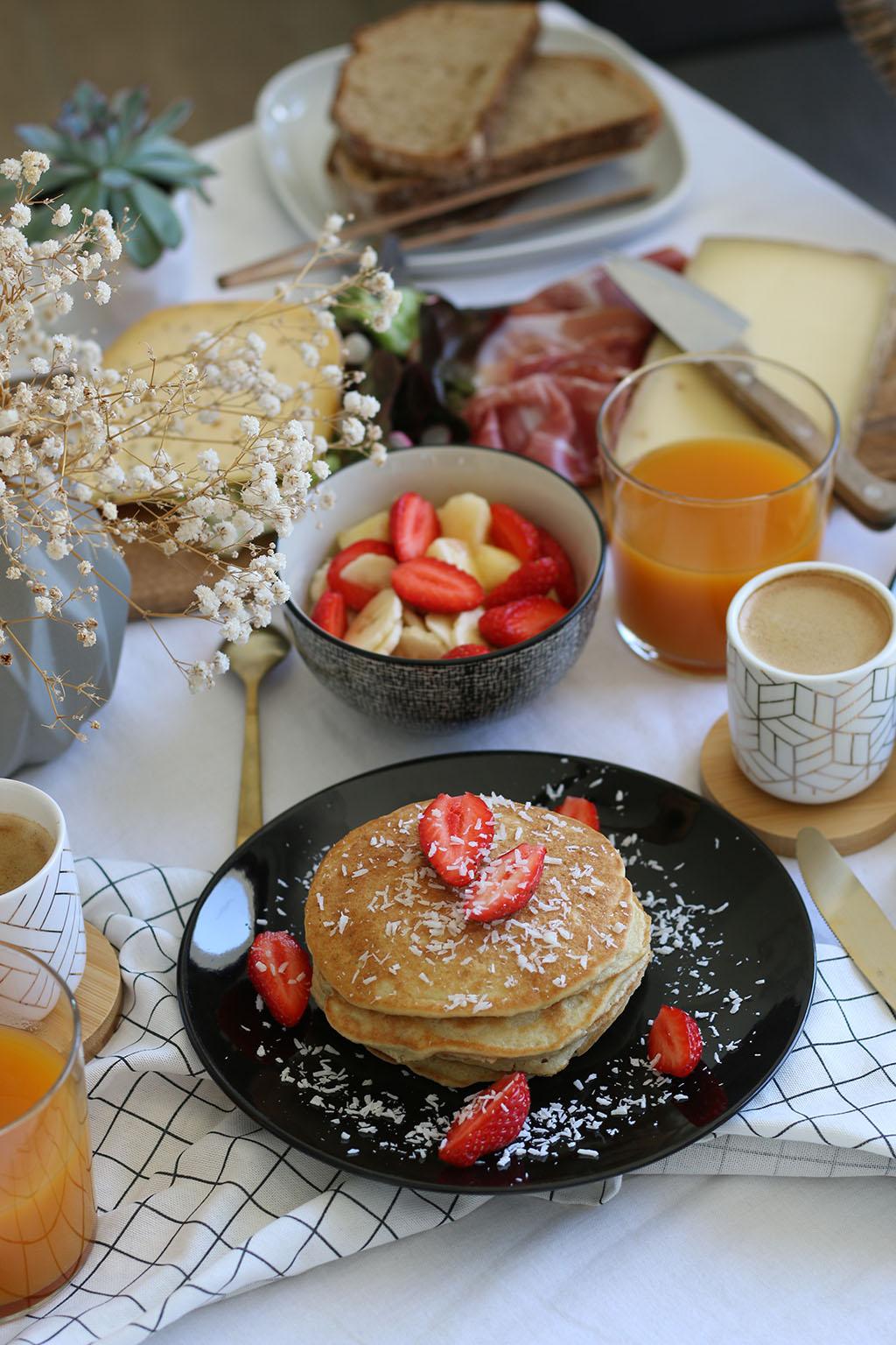 pancakes pour le brunch