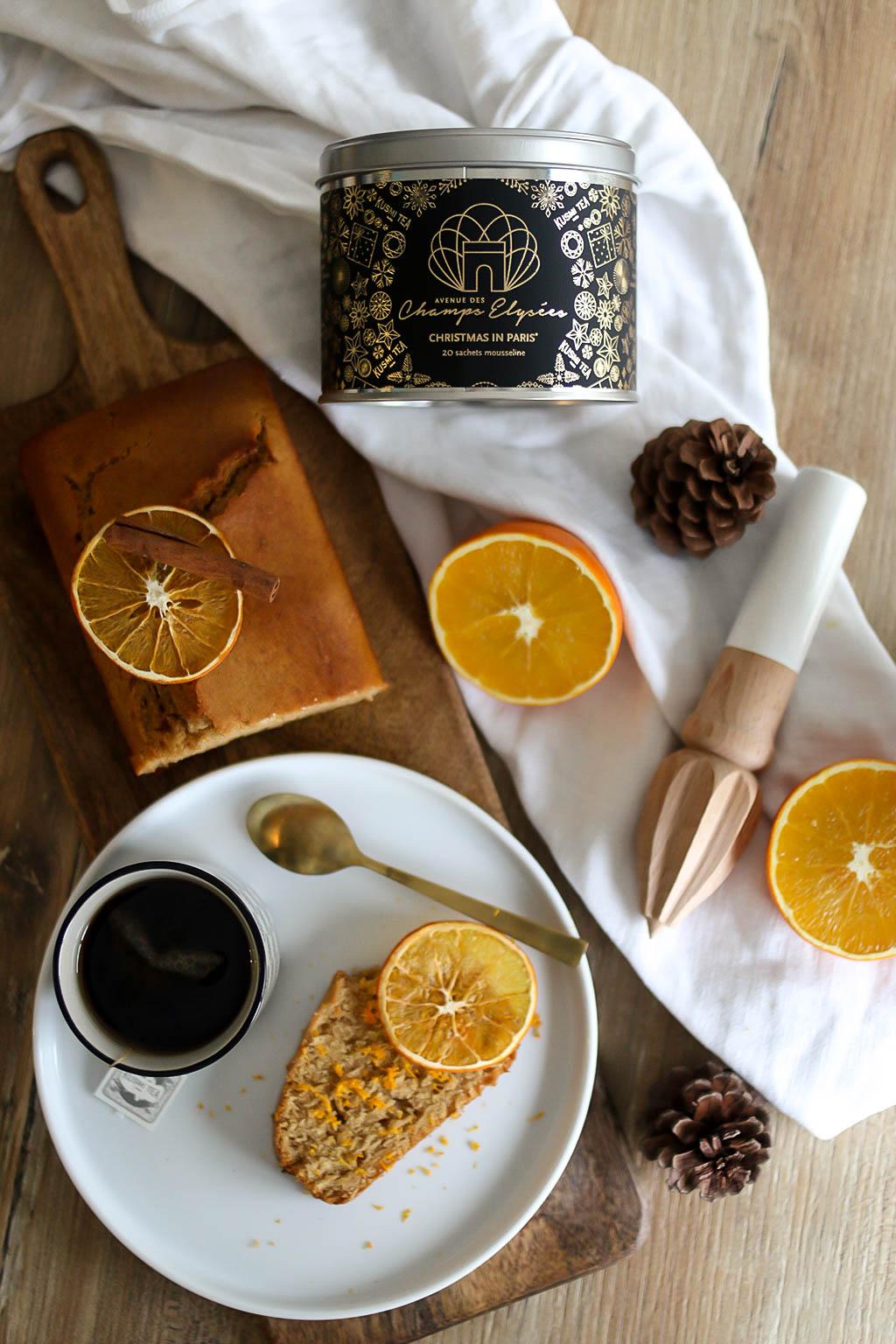 recette de noel avec thé